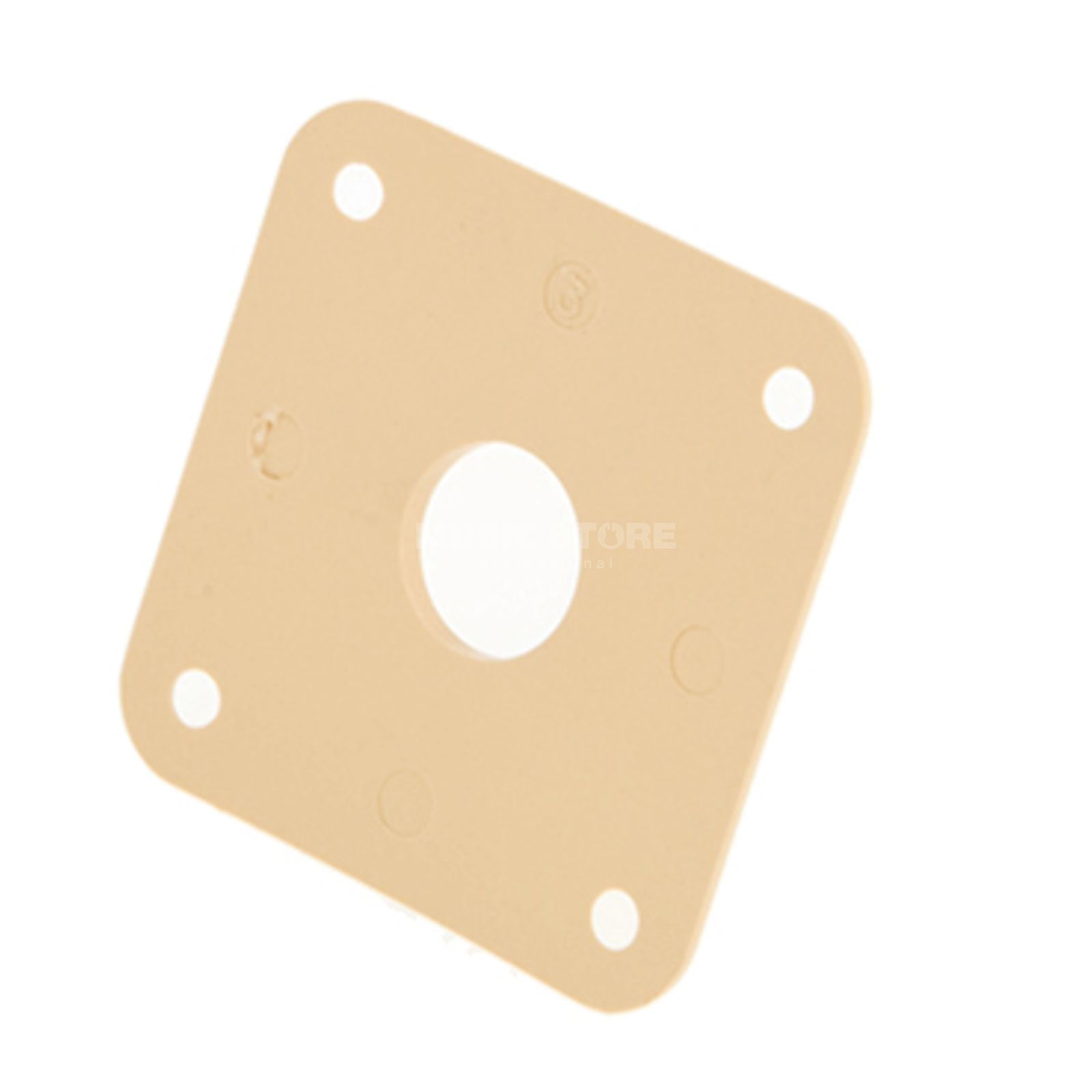Gibson PRJP-030 Jack Plate CR Plastic Creme Product Image