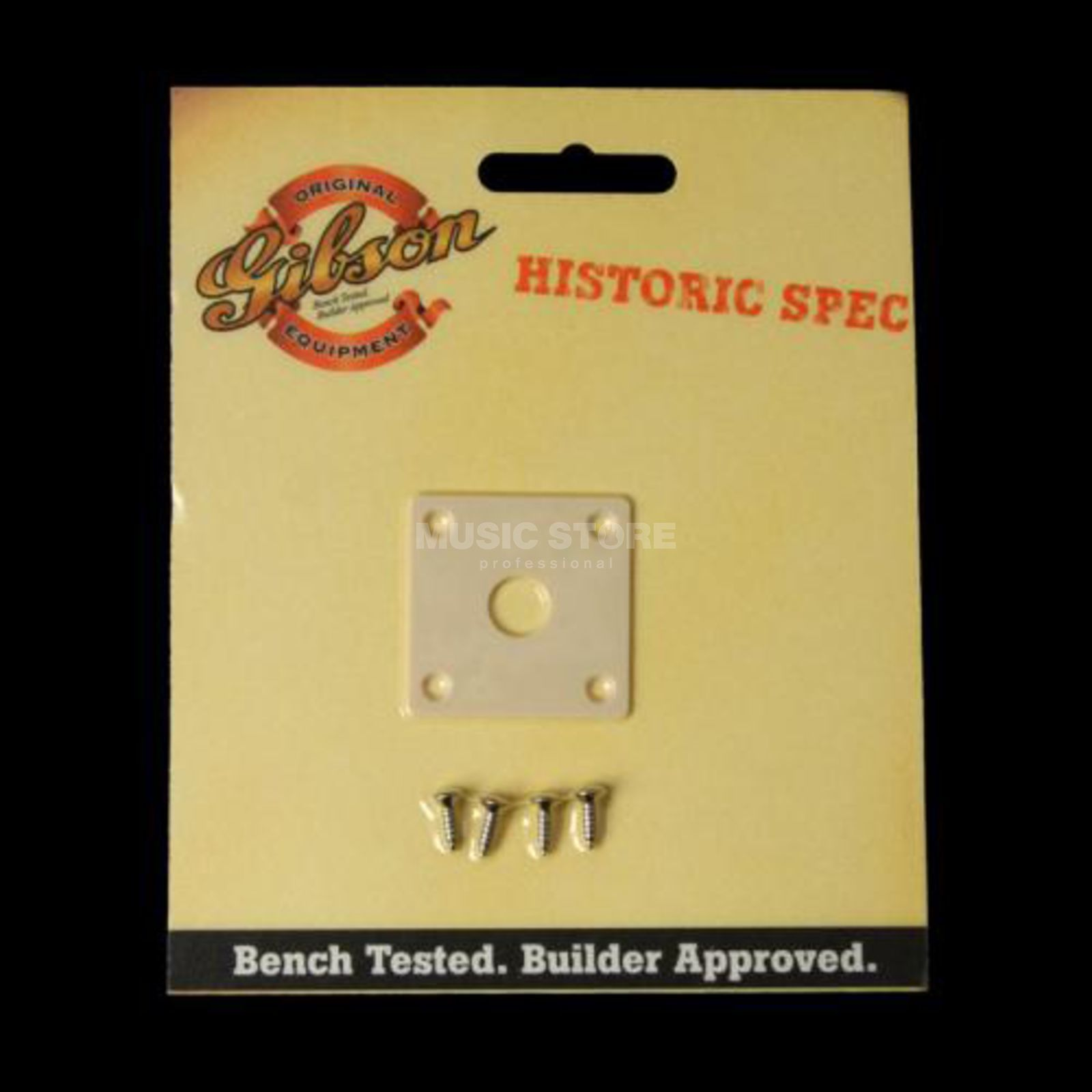 Gibson PRJP-059 Output Jack Plate Historic Cream Product Image