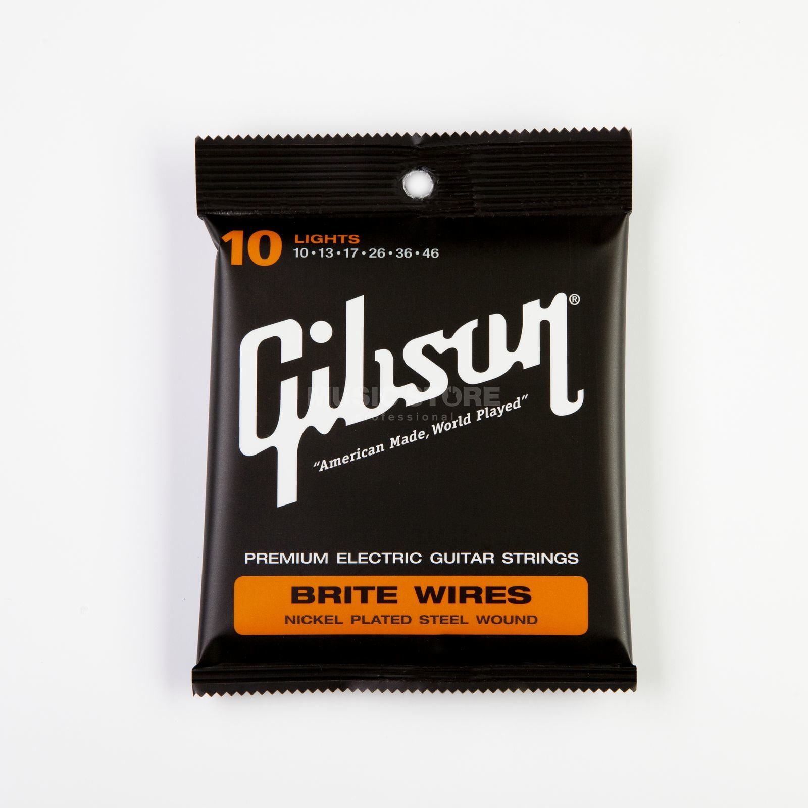 Gibson SEG-700ML Brite Wires 10-46 nikkel Plated Lights Productafbeelding