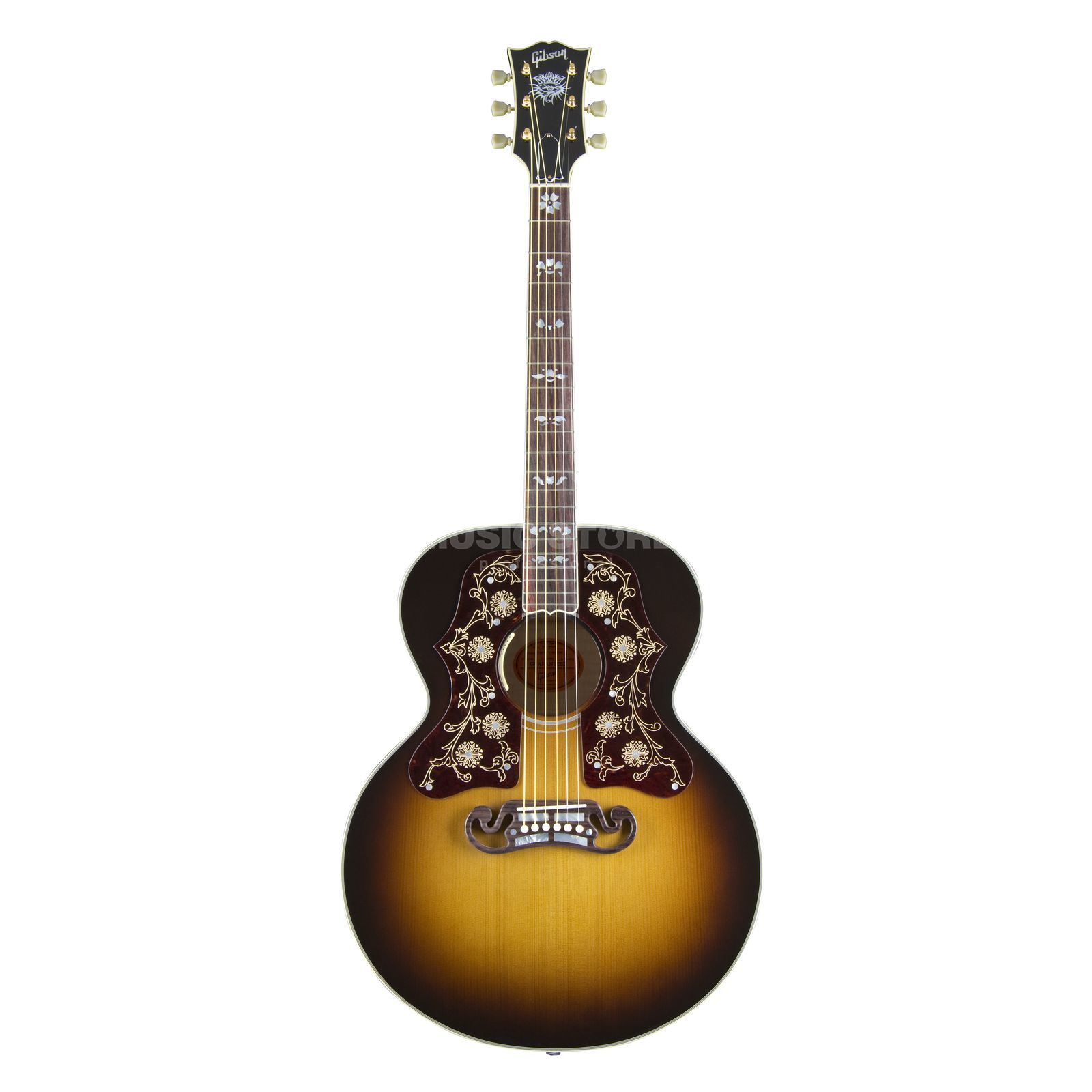Gibson SJ-200 Bob Dylan VS Vintage Sunburst Player's Edit Produktbillede