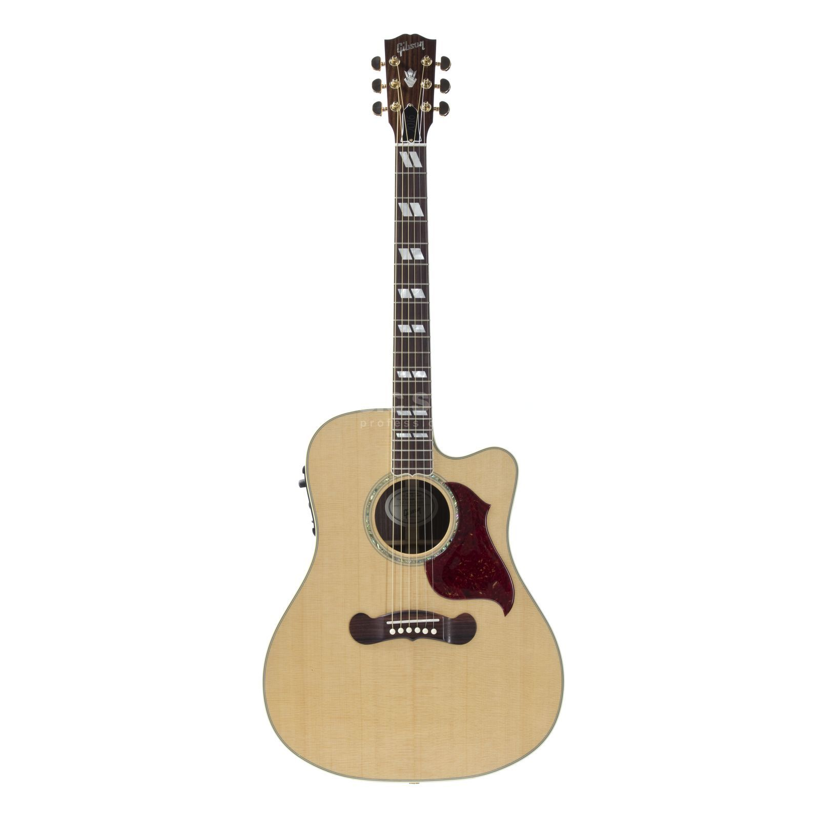 Gibson Songwriter Studio Cutaway Antique Natural Produktbillede