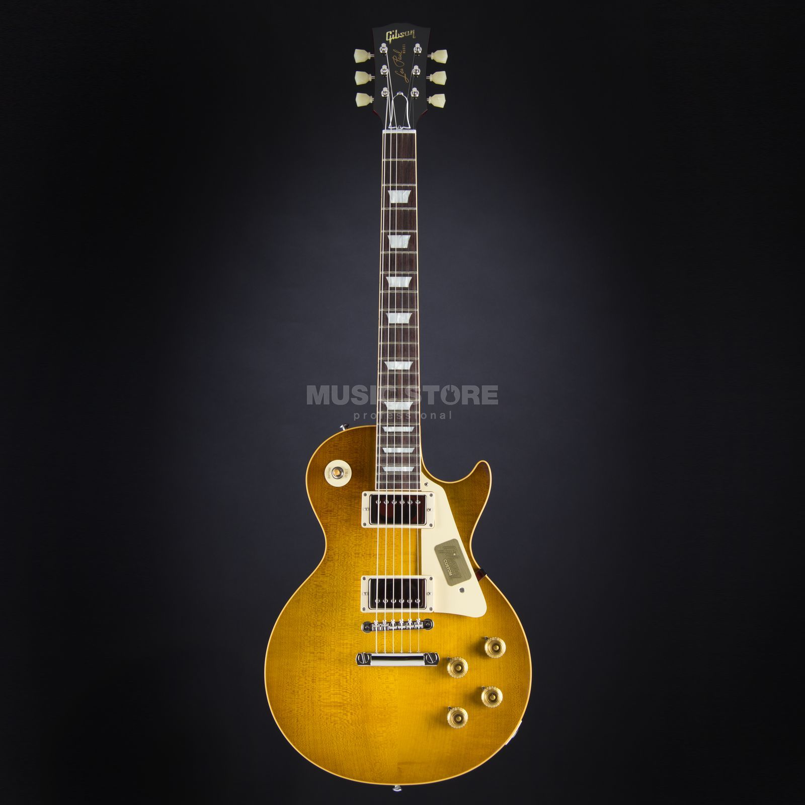 Gibson True Historic 1958 Les Paul Reissue Vintage Lemon Burst #85040 Produktbild