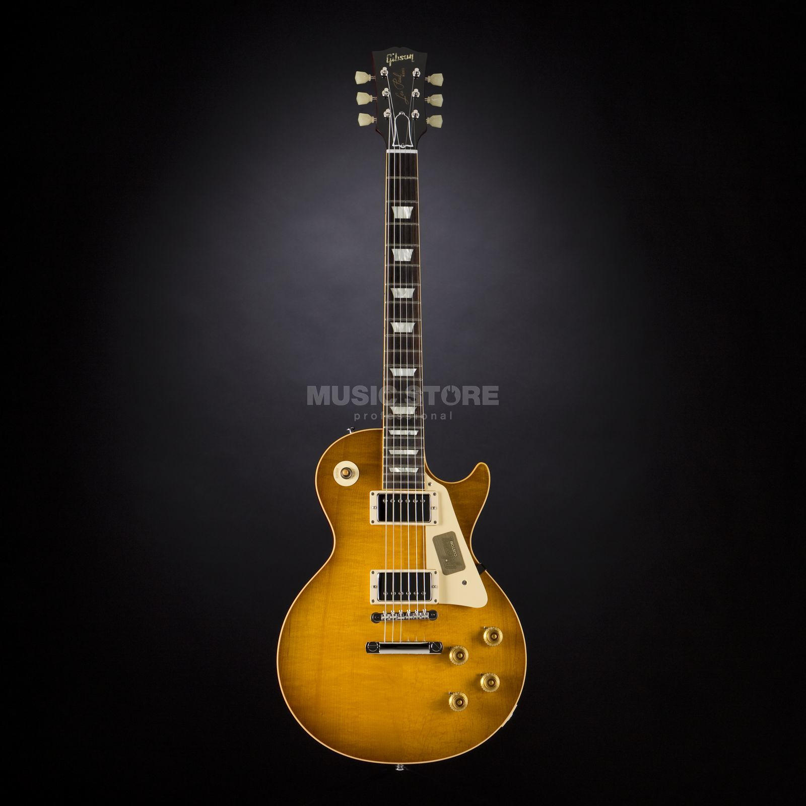 Gibson True Historic 1958 Les Paul Reissue Vintage Lemon Burst #85196 Produktbild
