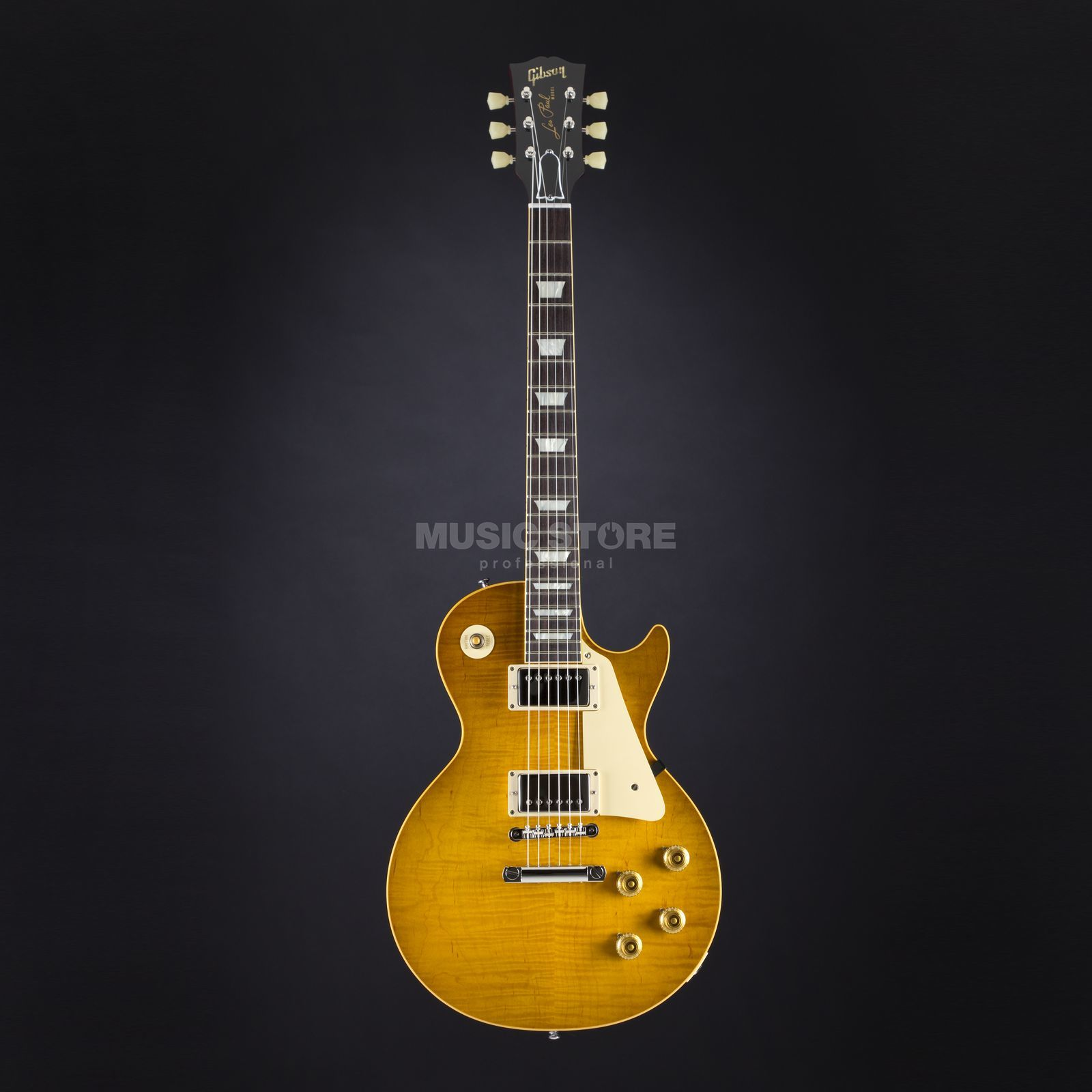 Gibson True Historic 1959 Les Paul Reissue Vintage Lemon Burst #95149 Produktbild