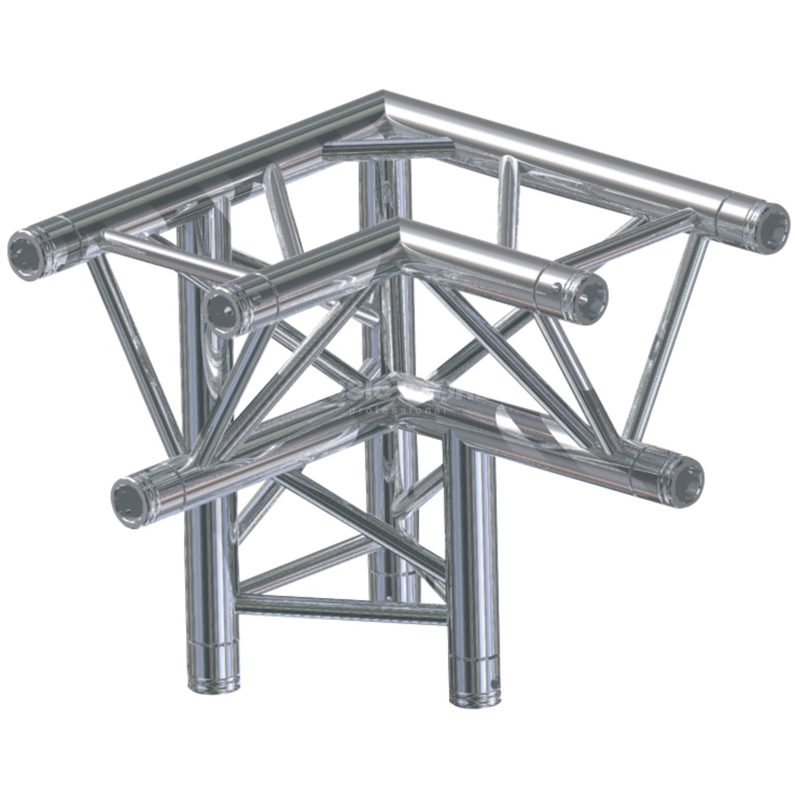 Global Truss F33, LD90 Corner, C34 3-Point, 3-Way right Produktbillede