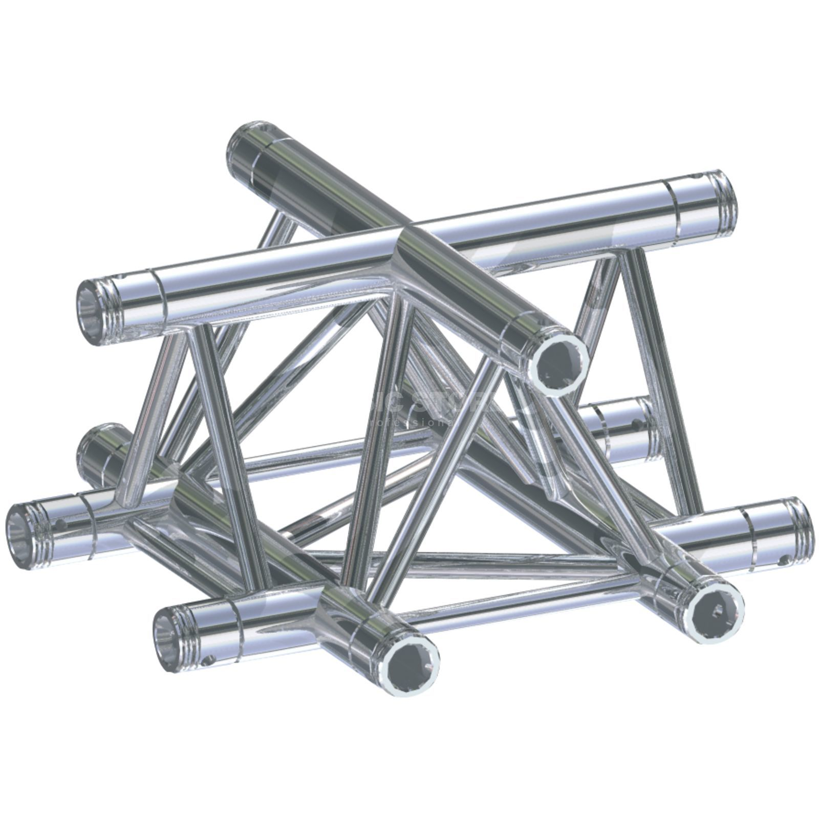 Global Truss F33, X-Section C41 3-Point 4-Way Cross Produktbillede