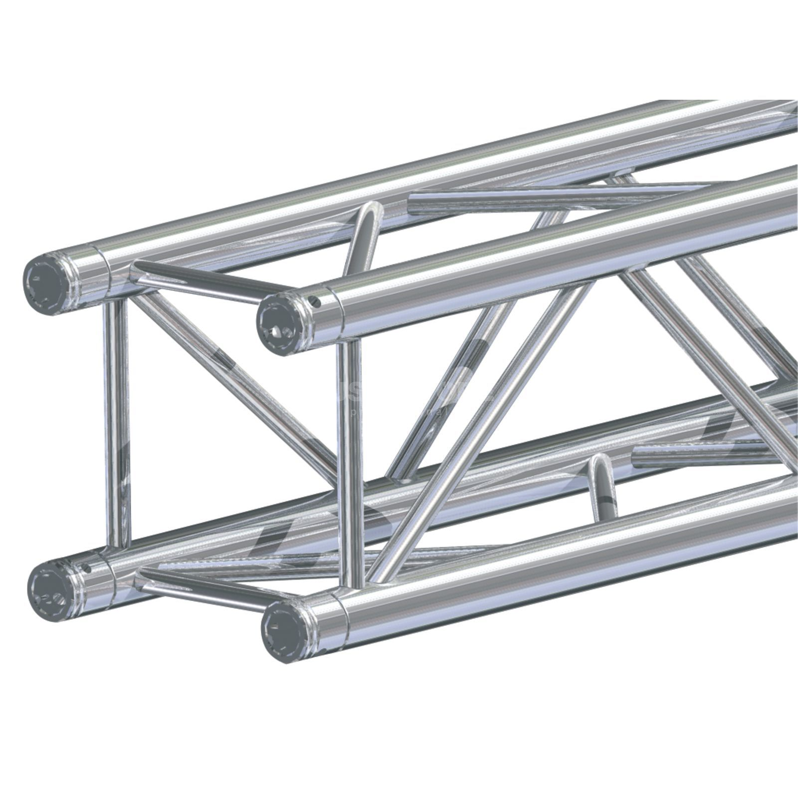 Global Truss F34, 25cm, 4-Point Truss incl.  Conical Connector  Produktbillede