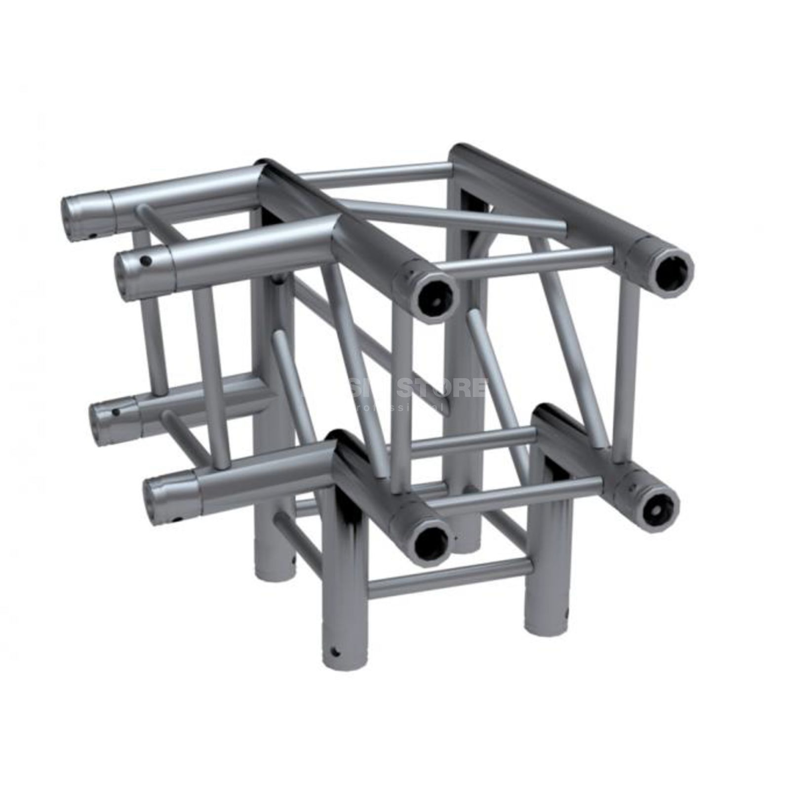Global Truss F34 3-Weg Ecke C30 Abgang links 85° Produktbild