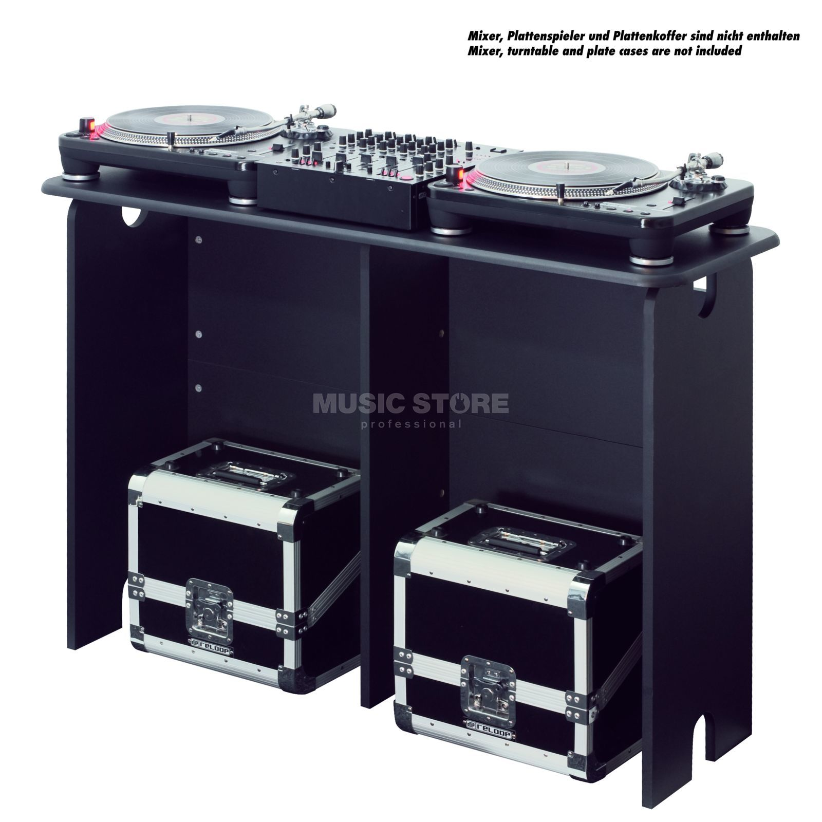 Glorious Mix Station DJ Table black Produktbillede