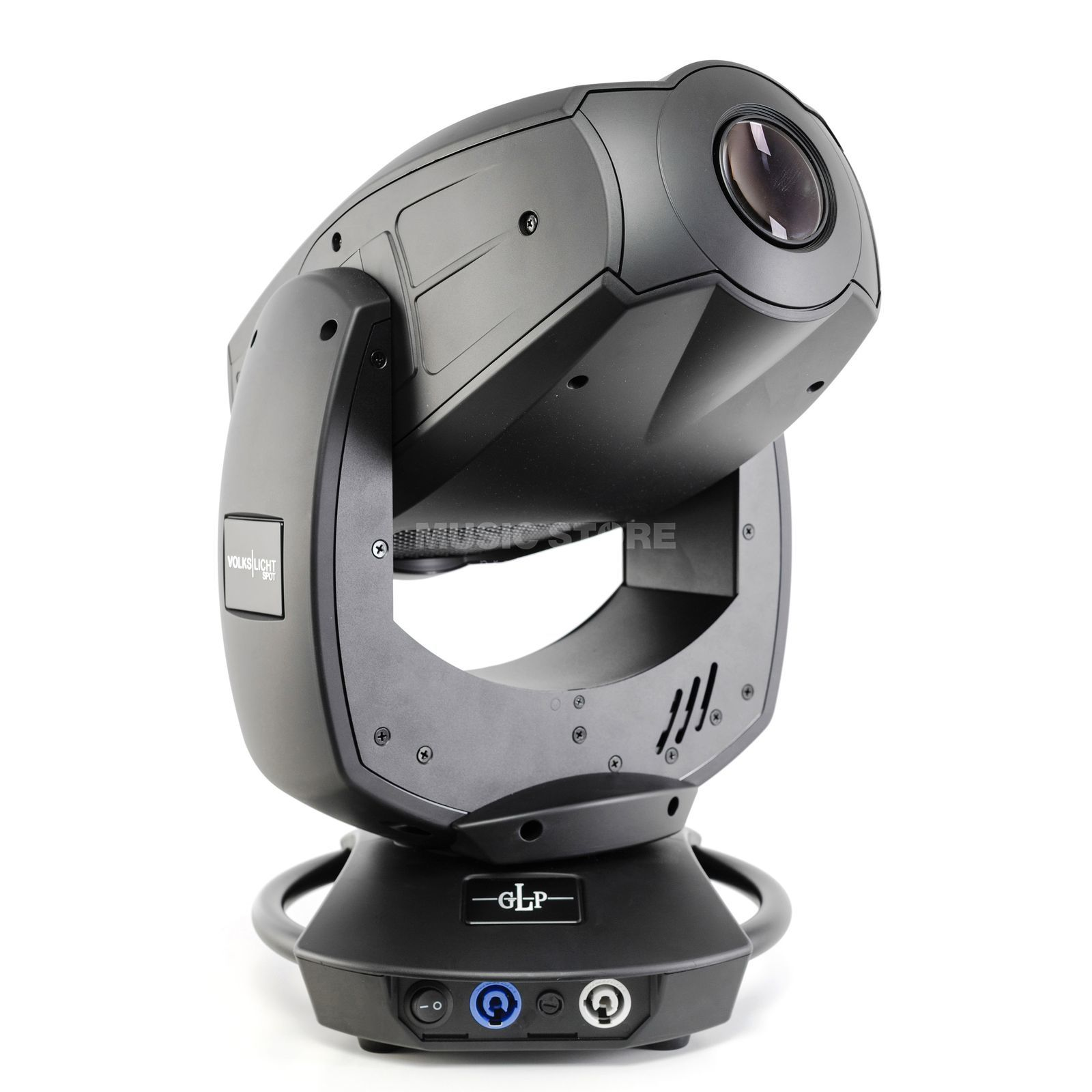 GLP German Light Products Volkslicht Spot schwarz 300W RGB LED Moving Head Produktbild