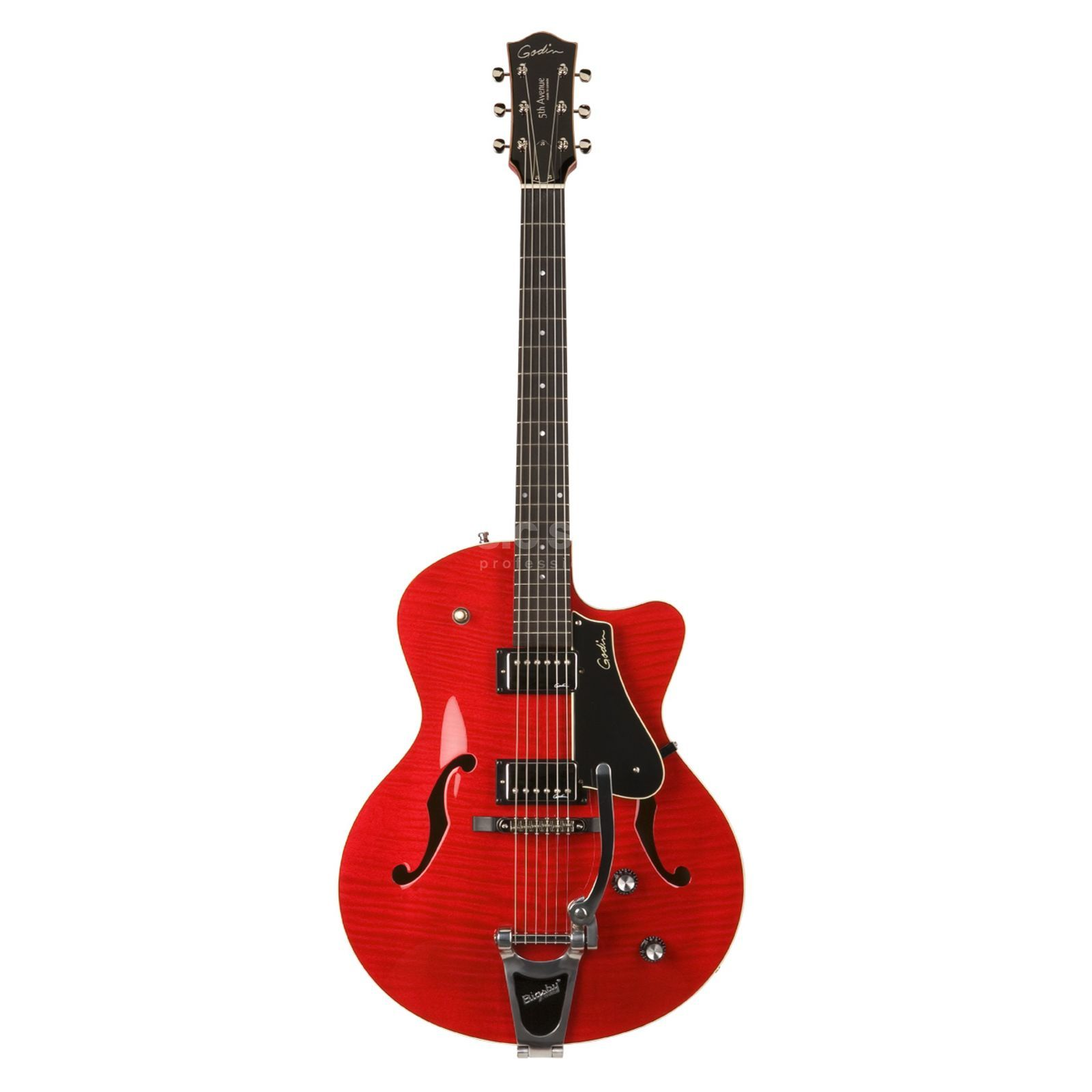Godin 5th Avenue Uptown Trans Red GT Produktbild