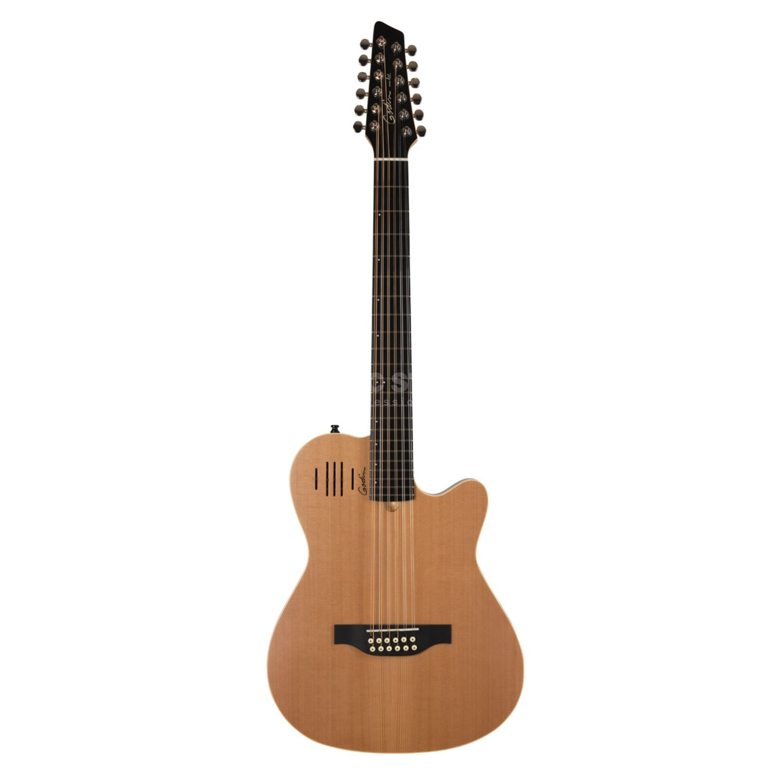 Godin A 12 12-Str.Natural Semi Gloss solid Cedar Top,  incl. Bag Produktbillede