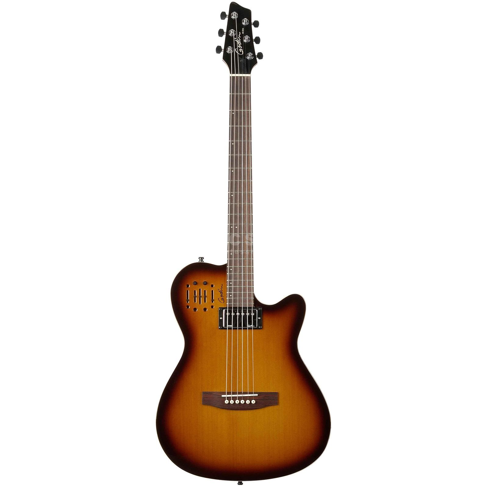 Godin A6 Ultra CB HG Cognac Burst Highgloss- Finish Produktbild