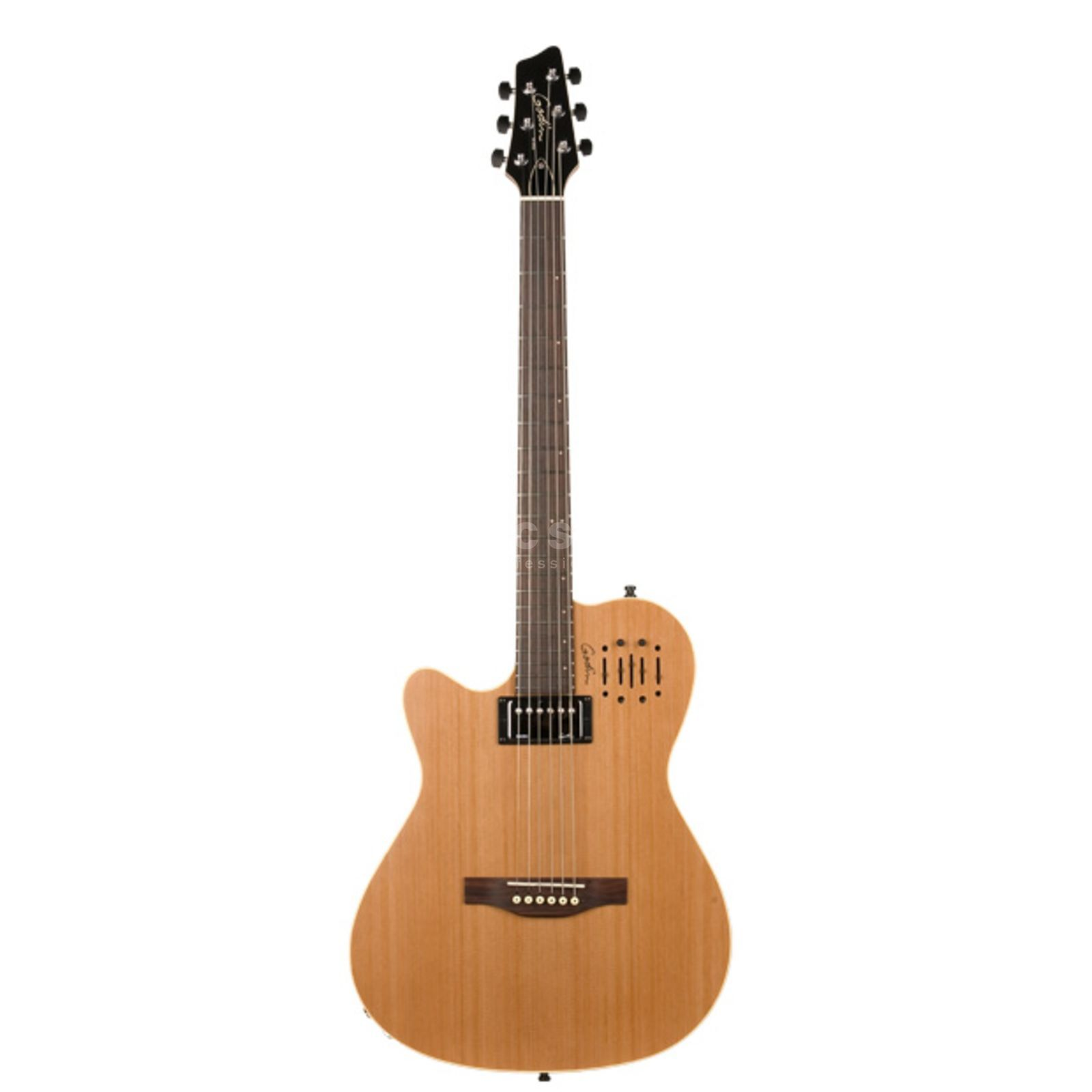 Godin A6 Ultra Lefthand Semi-Gloss Natural Produktbillede