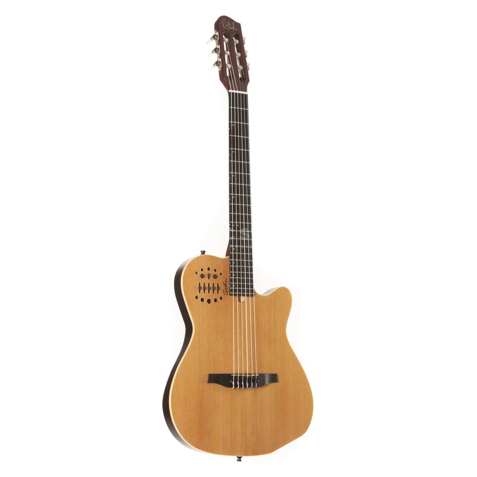 Godin ACS-SA Synth Access Nylon Stri ng Electro Acoustic, Natural   Produktbillede