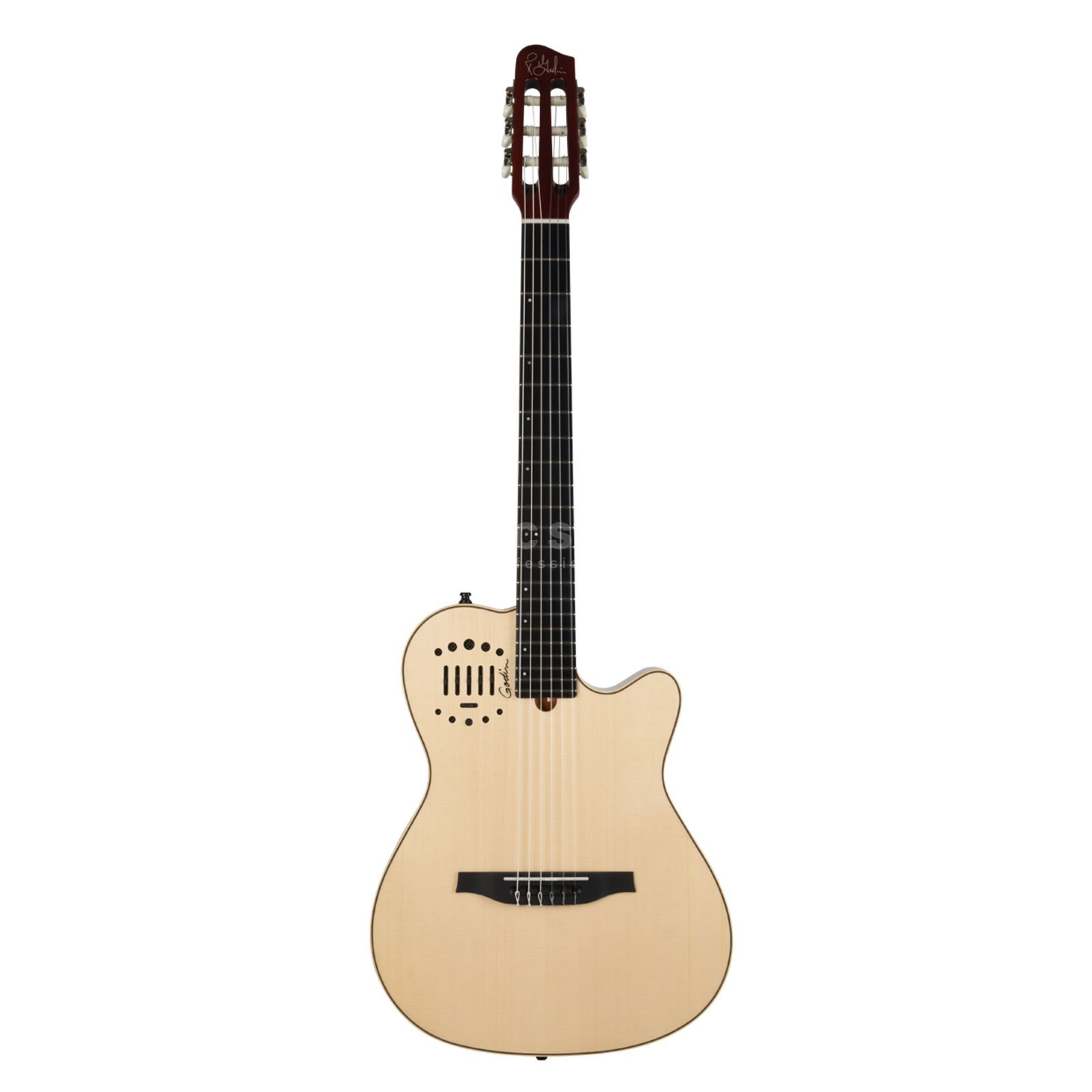 Godin Multiac Nylon Duet Ambiance Natural Semigloss- Finish Produktbillede