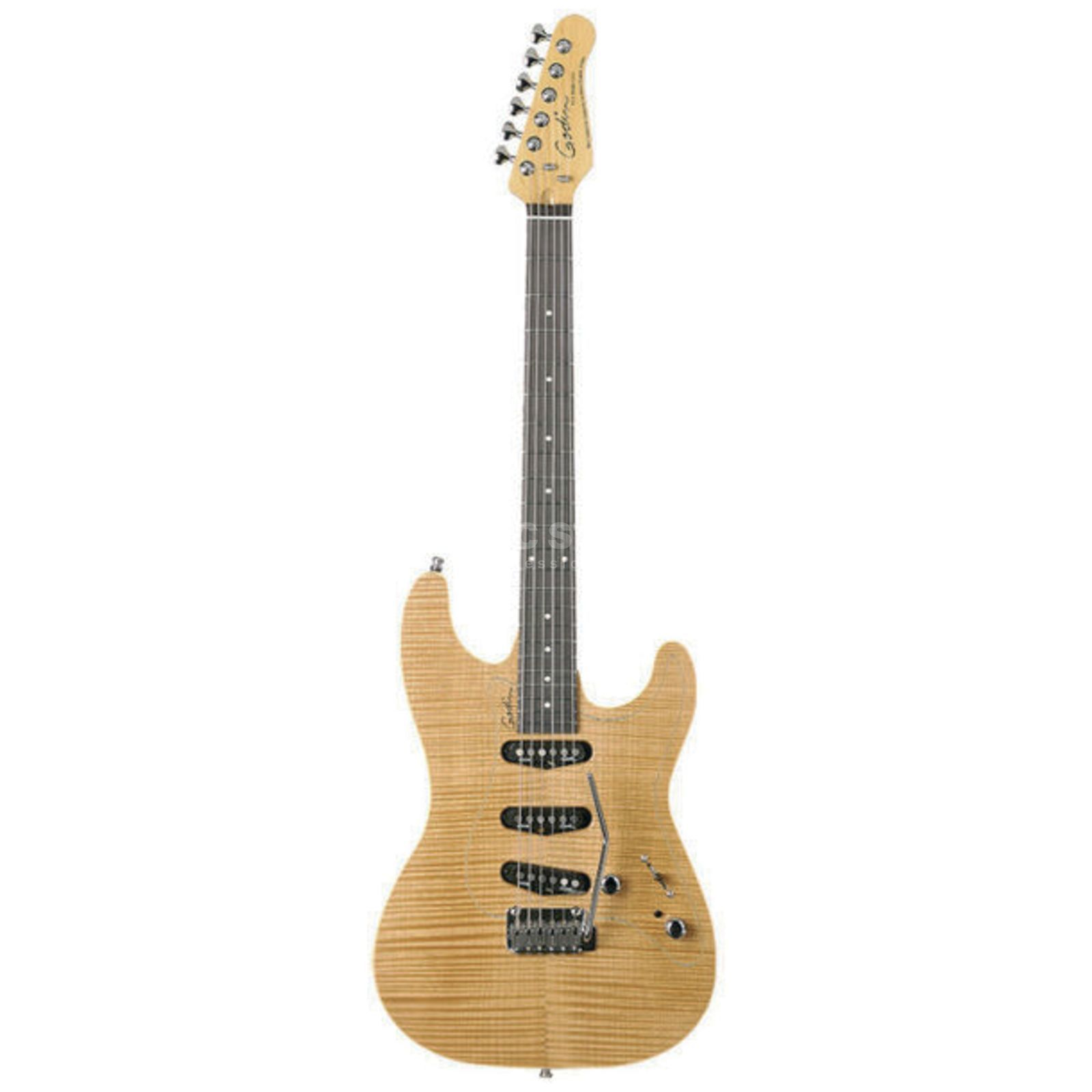 Godin Passion RG-3 Spruce RF NT Natural Flame Produktbild