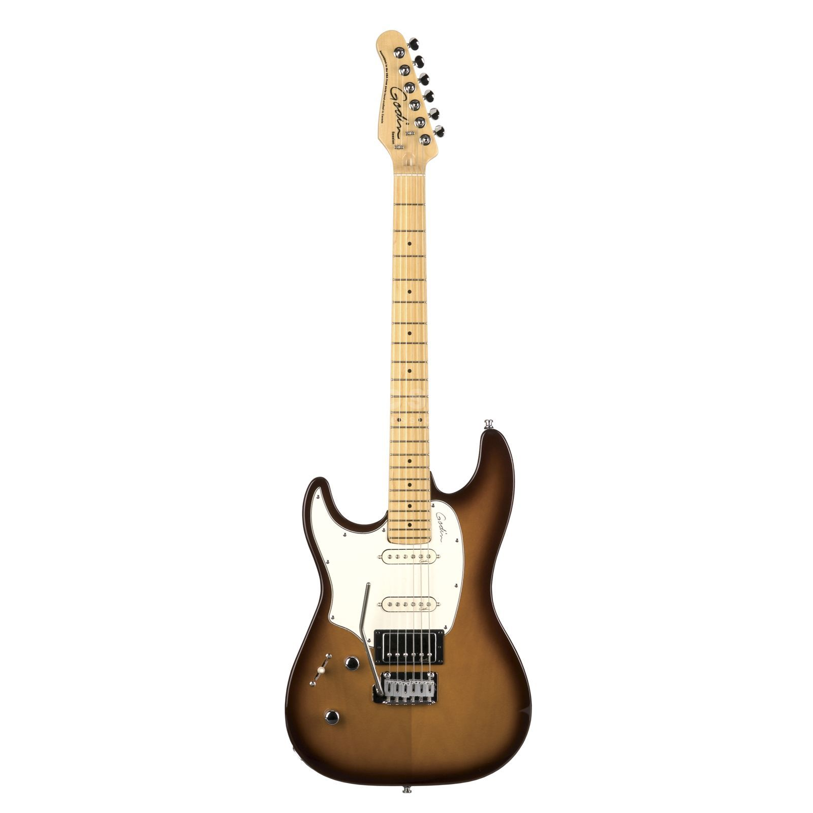 Godin Session Lefthand MF HG LB Lightburst Produktbild