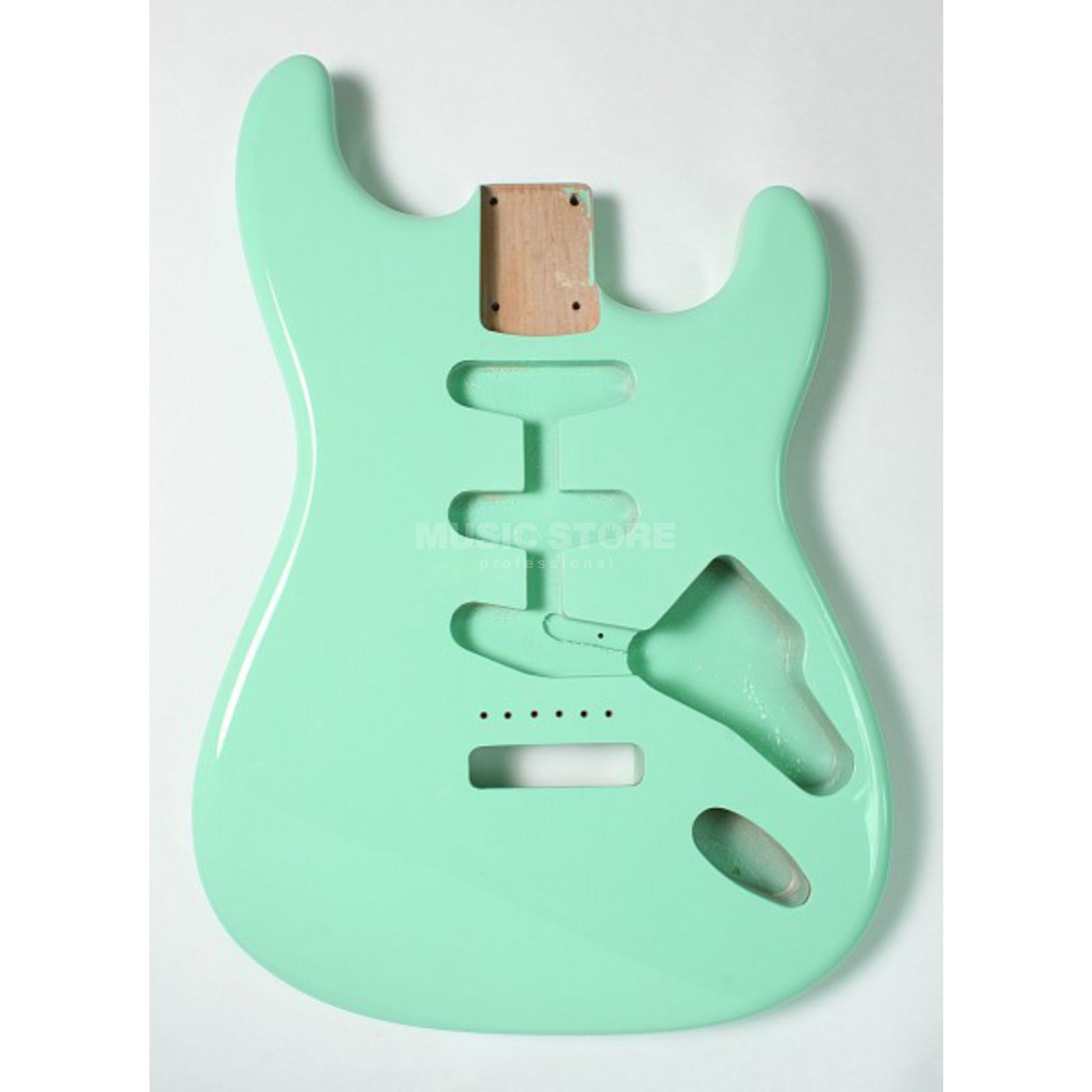 Göldo Body Strat for 3 Single Coils Surf Green   Produktbillede