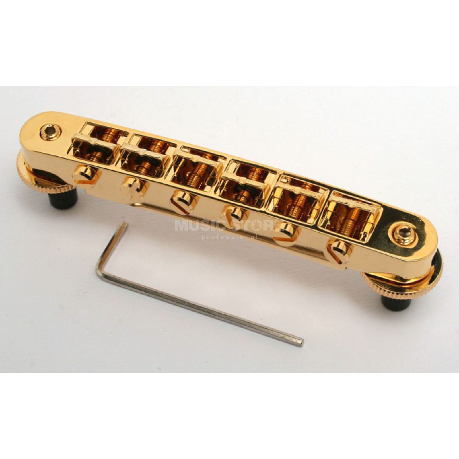 Göldo Duesenberg Steel Saddle Bridge Gold HWDDG Produktbild
