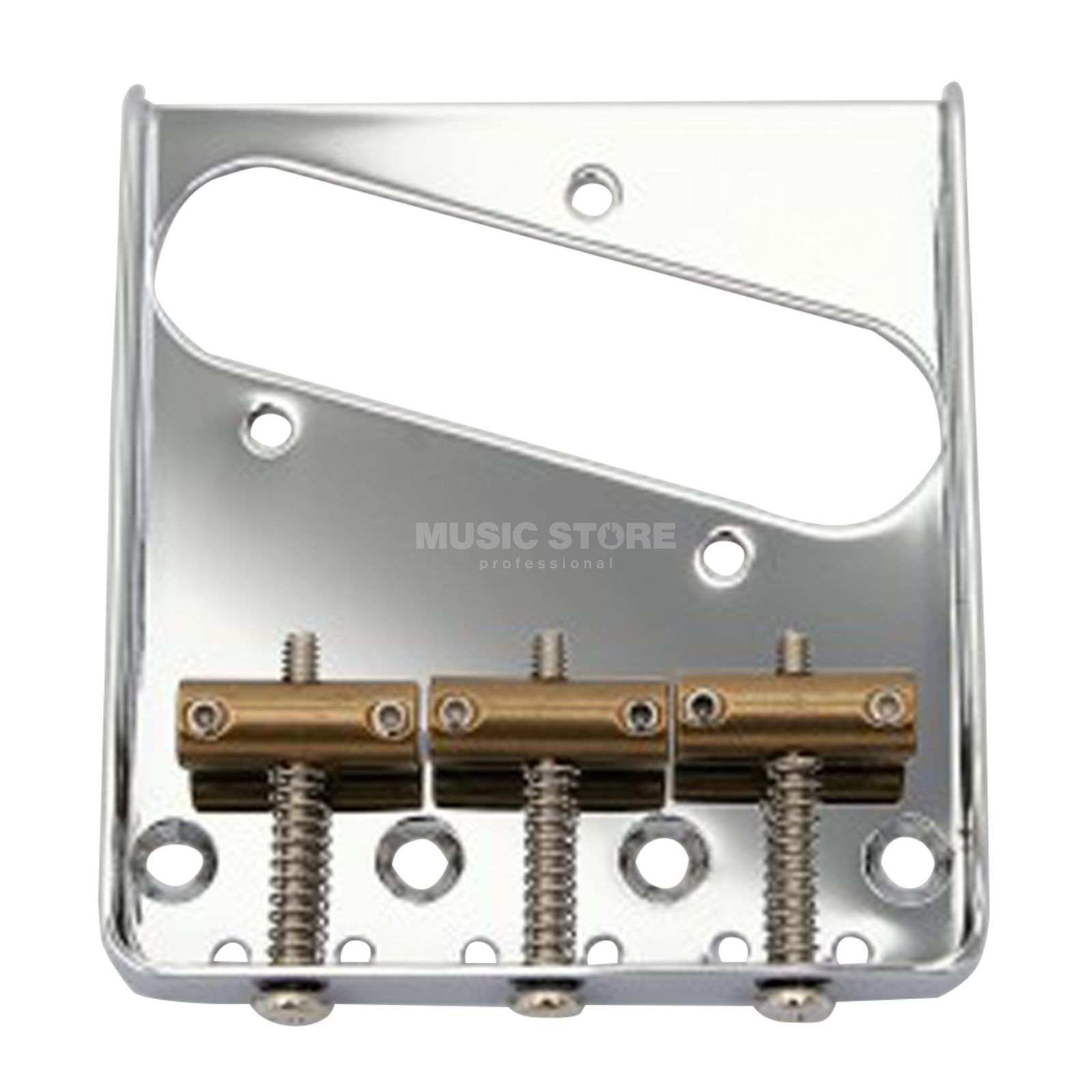 Göldo Tele  Bridge Vintage chrome - 3 Brass Guides Product Image
