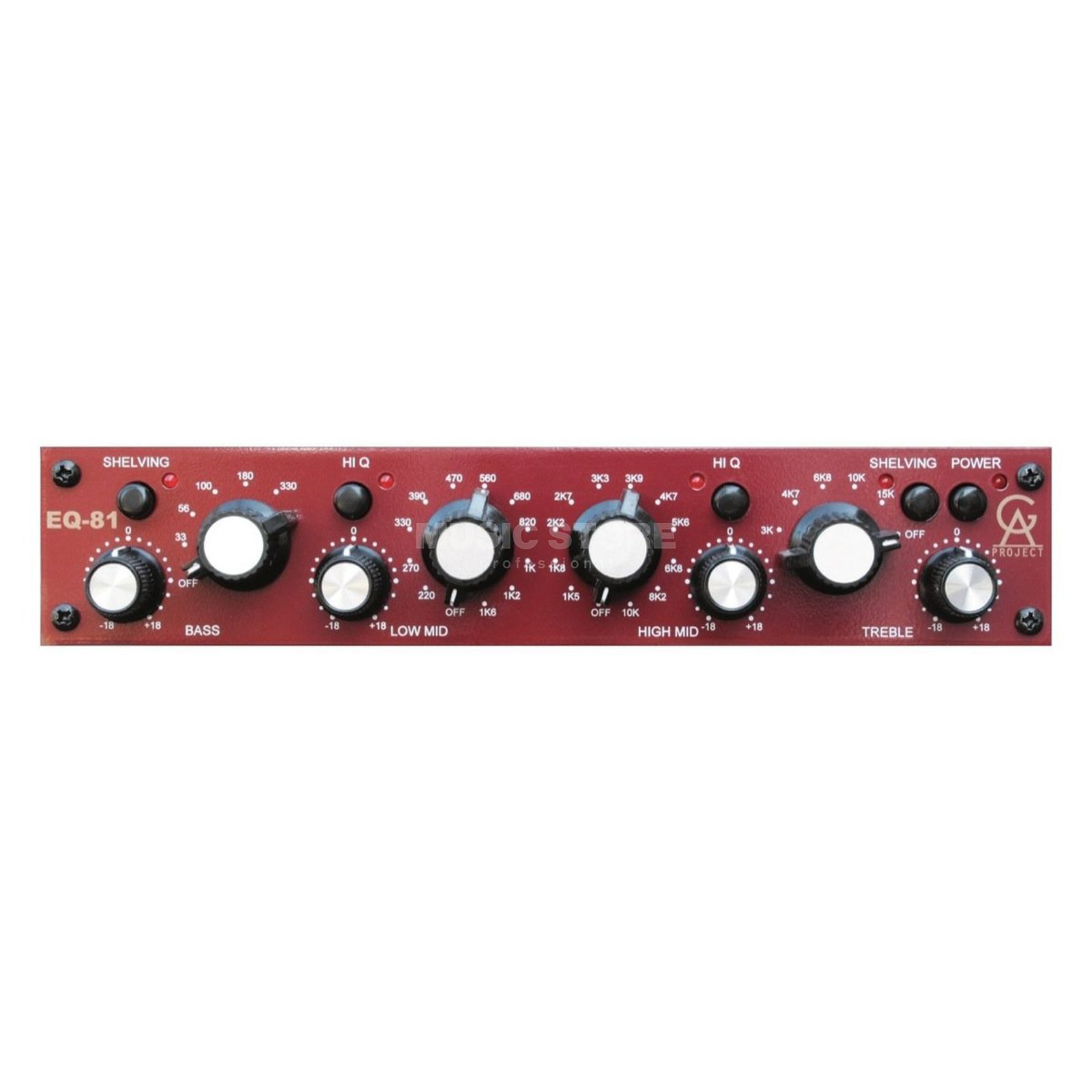 Golden Age Project EQ-81 Neve Style Equalizer Produktbild