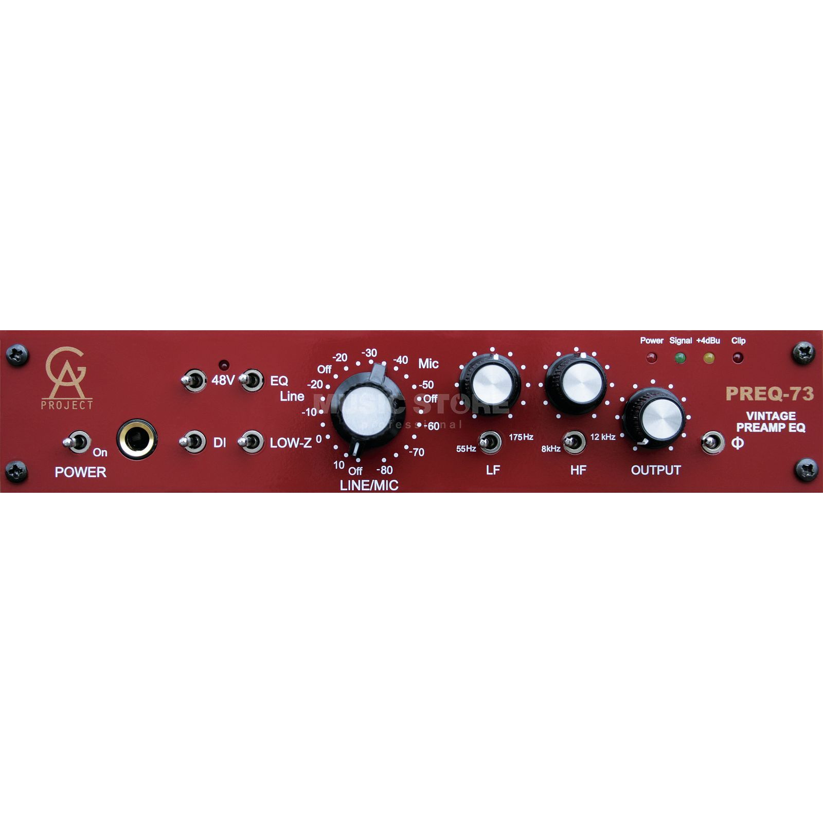 Golden Age Project PREQ-73 Channelstrip 1-Channel MicPre + EQ Produktbillede