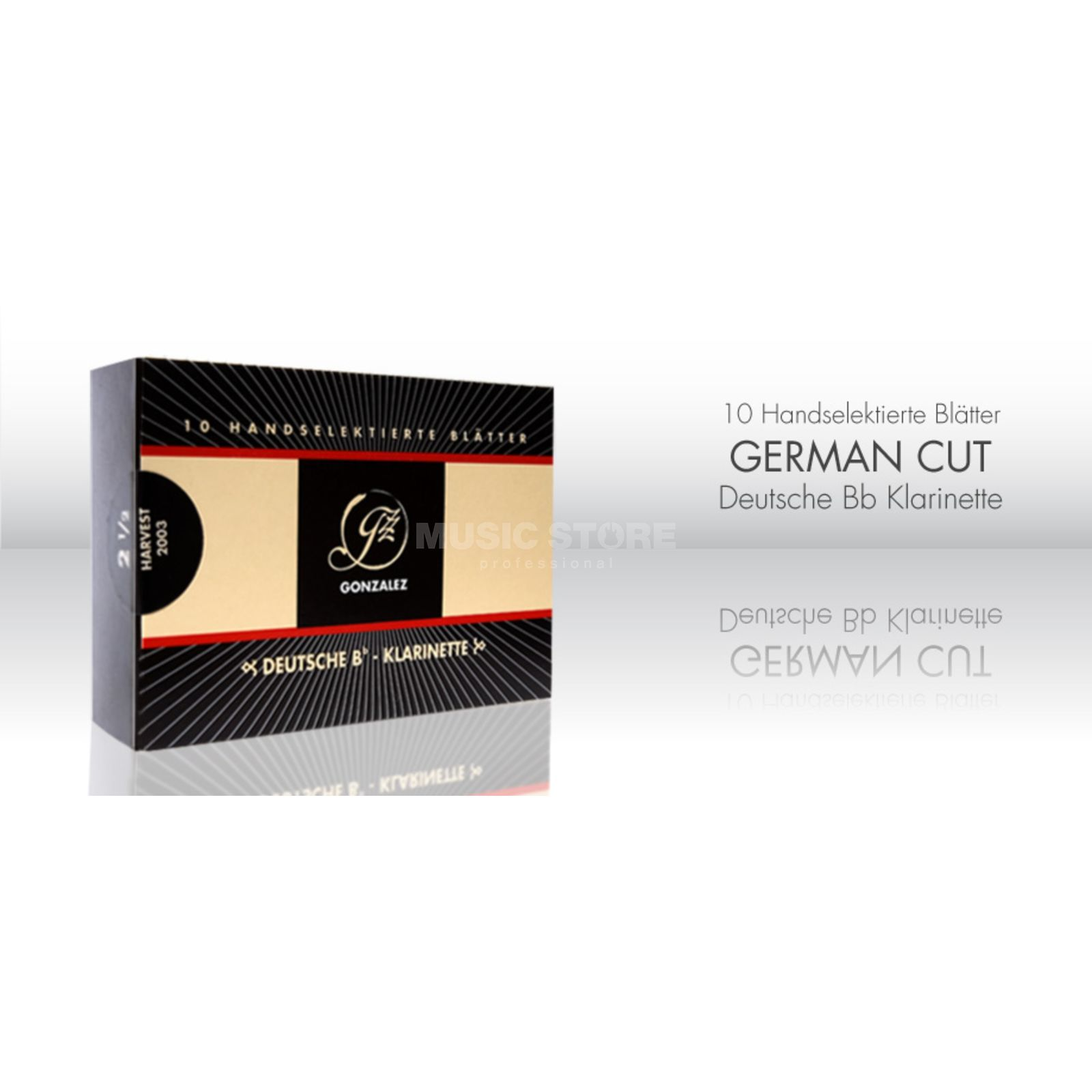 Gonzalez Bb Clar German 3 Deutsches System, 10er Pack Product Image