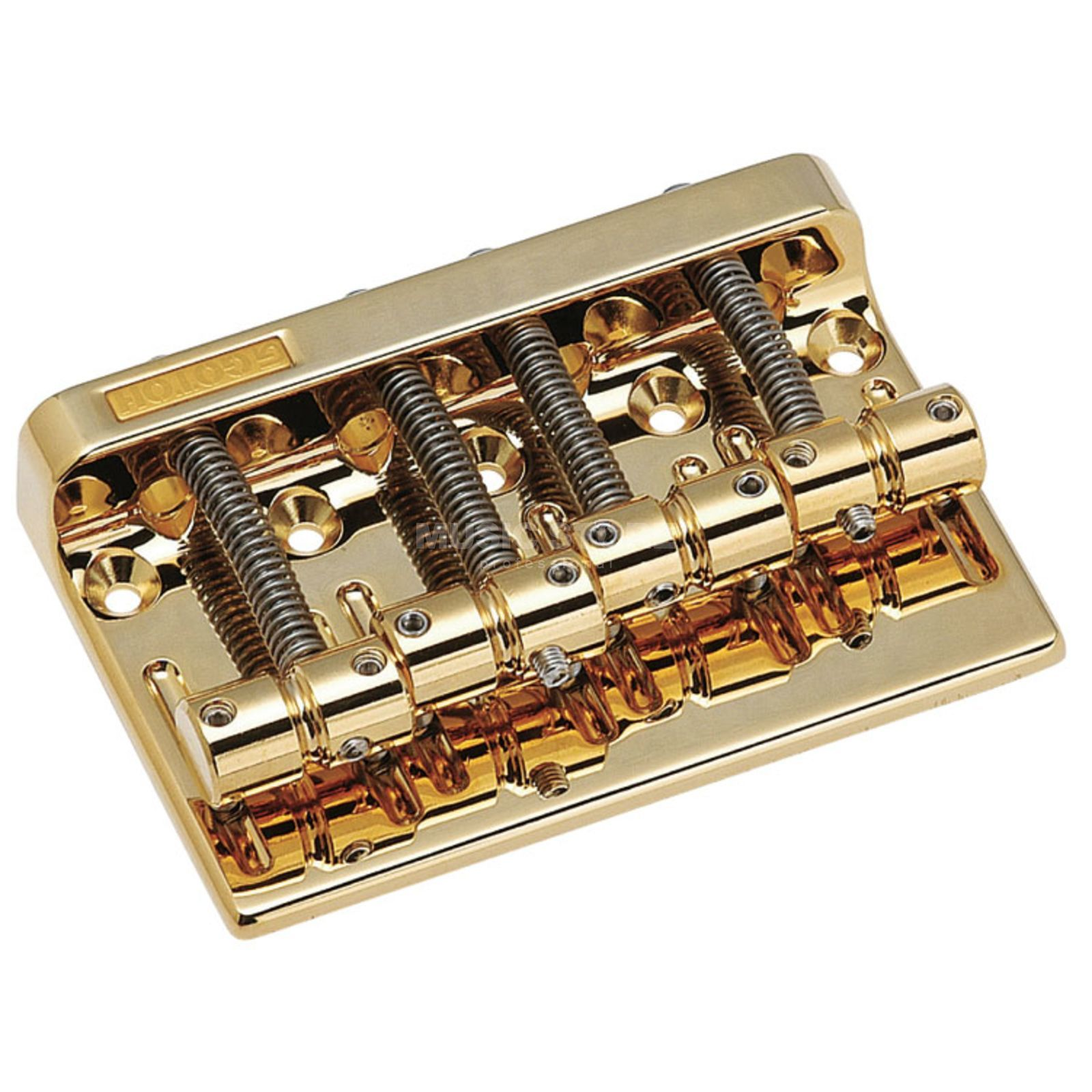 Gotoh Bass Bridge 201-B4 Gold  Produktbillede