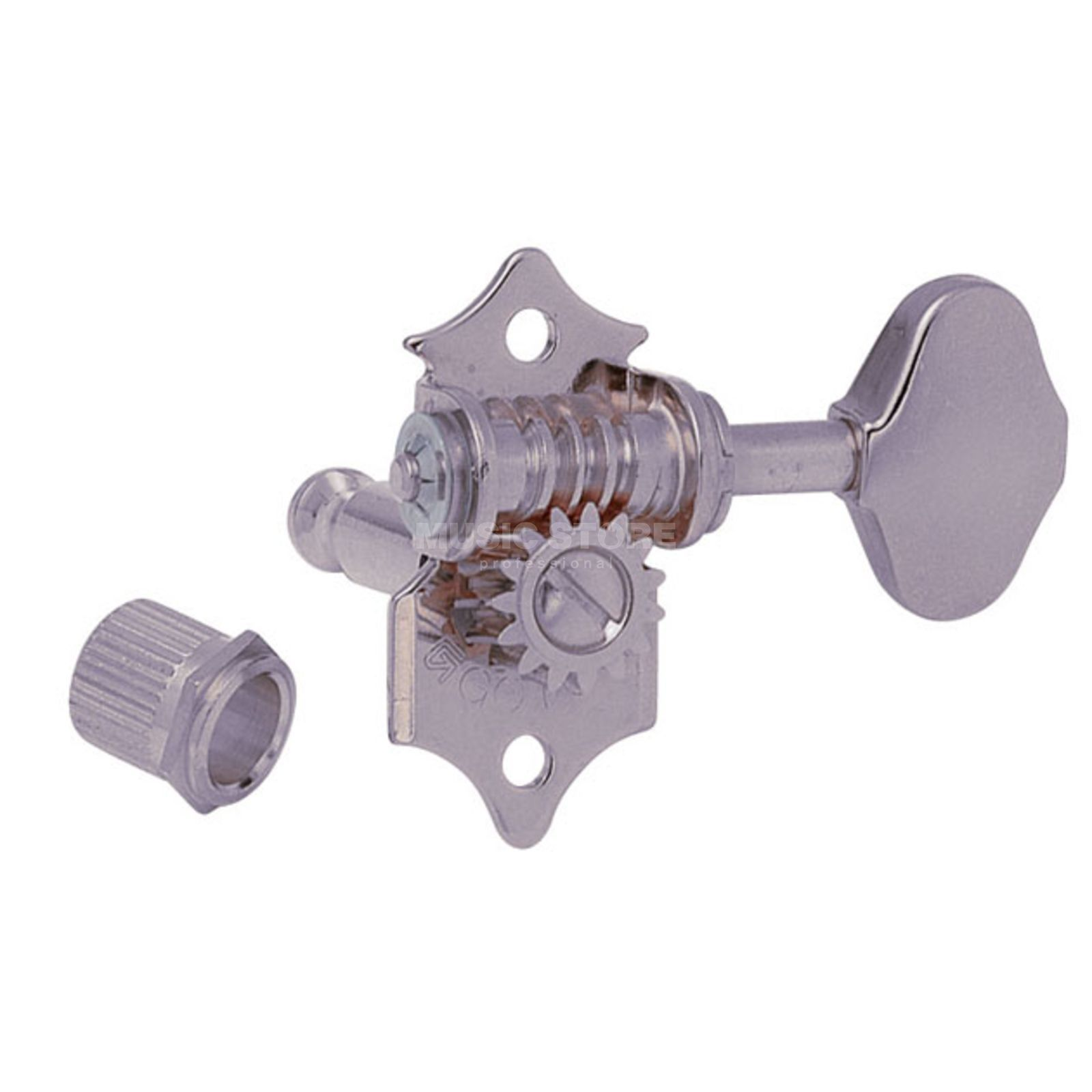Gotoh SE-510W Mechanik XN 3L 3R 06M Button satin nickel Produktbillede