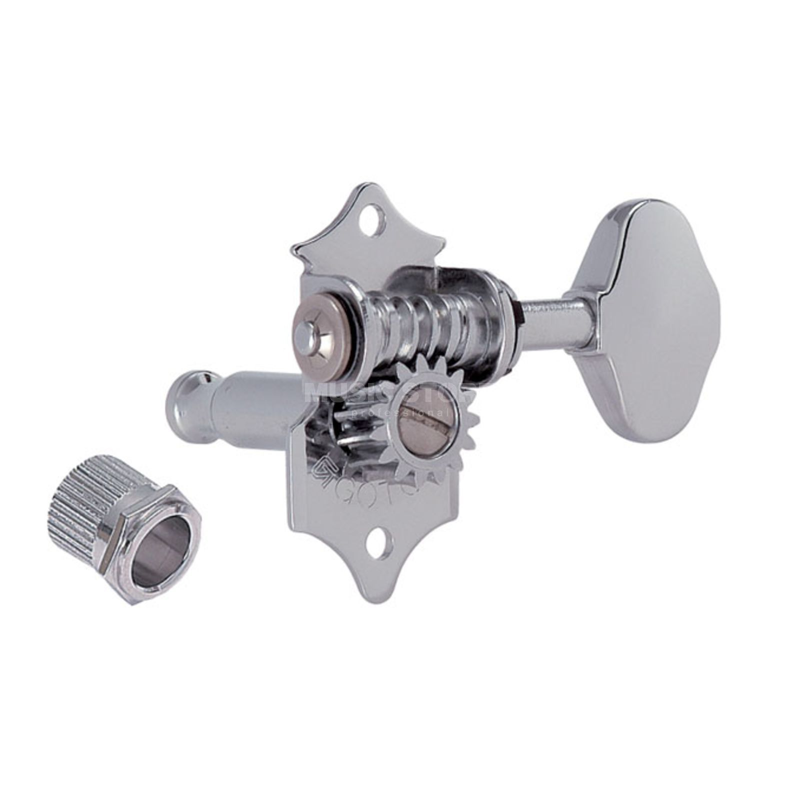 Gotoh SE-700 Mechanik XN 3L 3R 06M Button satin nickel Produktbild