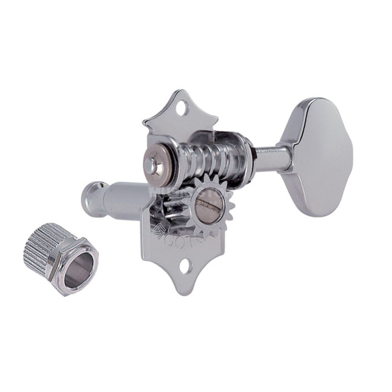 Gotoh SE-770 Mechanik N 3L 3R06M Button nickel Produktbild