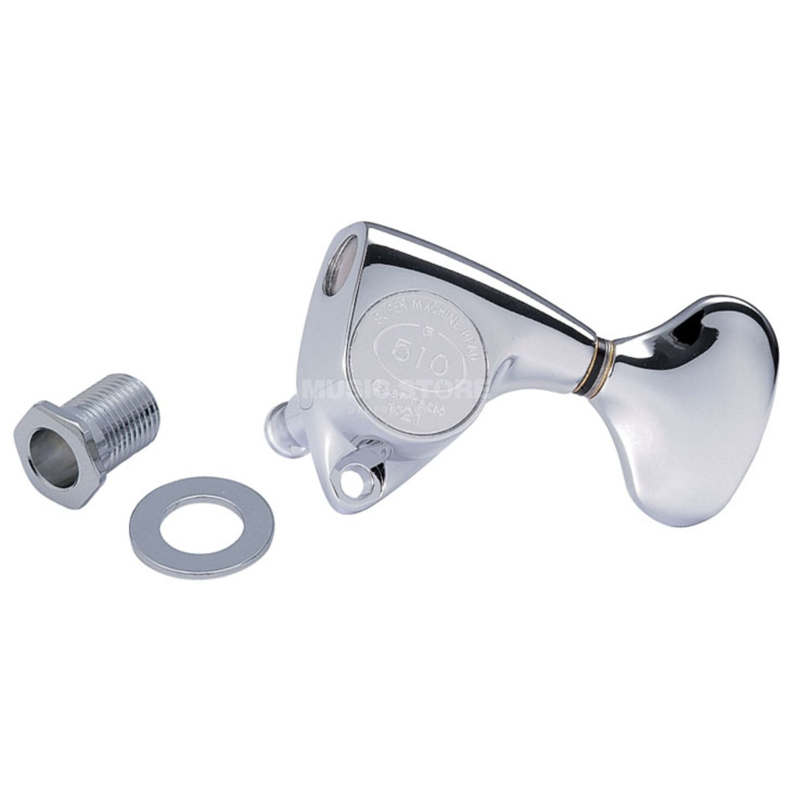 Gotoh SGV-510 Mechanik C 3L 3R L5 Button chrome Produktbild
