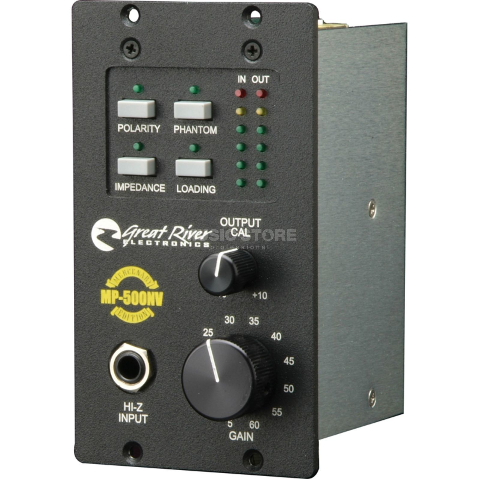 Great River MP-500 NV PreAmp Rackmodule 500 Format Produktbillede