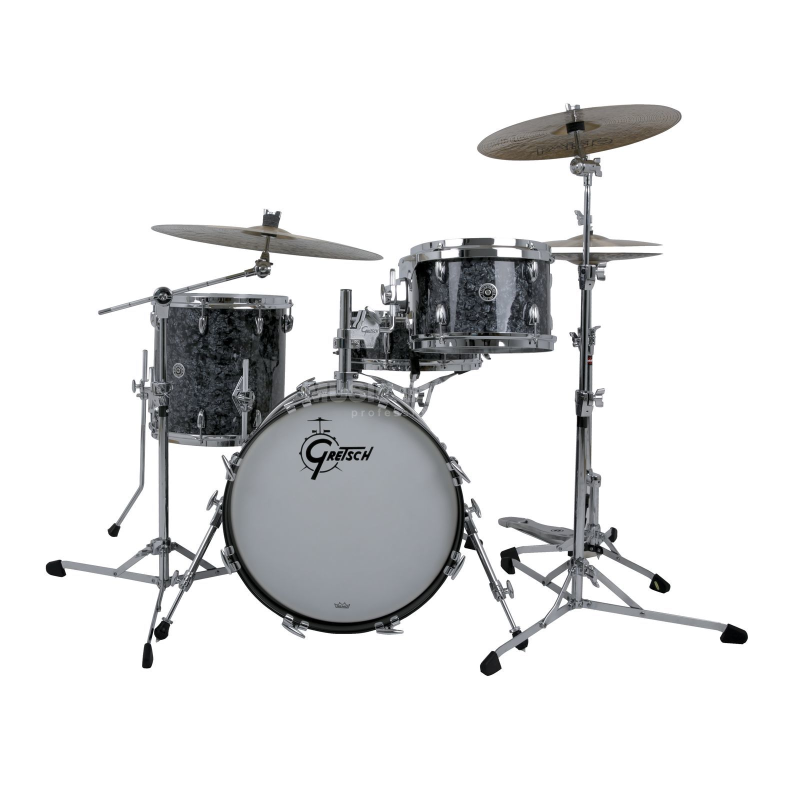 Gretsch Brooklyn LE Jazz Kit, Deep Black Marine Pearl Produktbillede