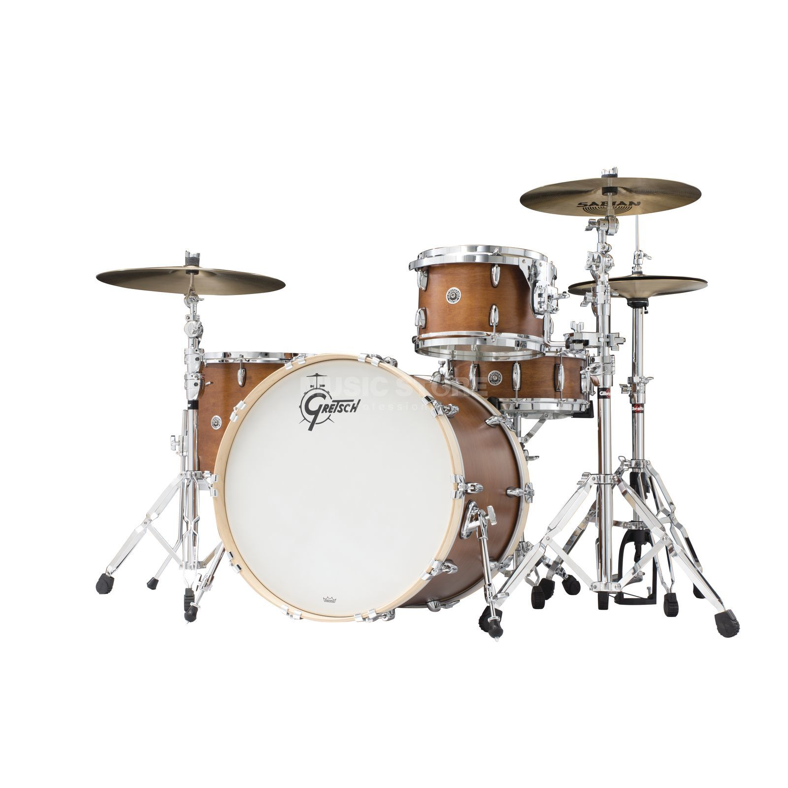 Gretsch Brooklyn ShellSet GB-R443, Satin Mahogany #SM Produktbillede