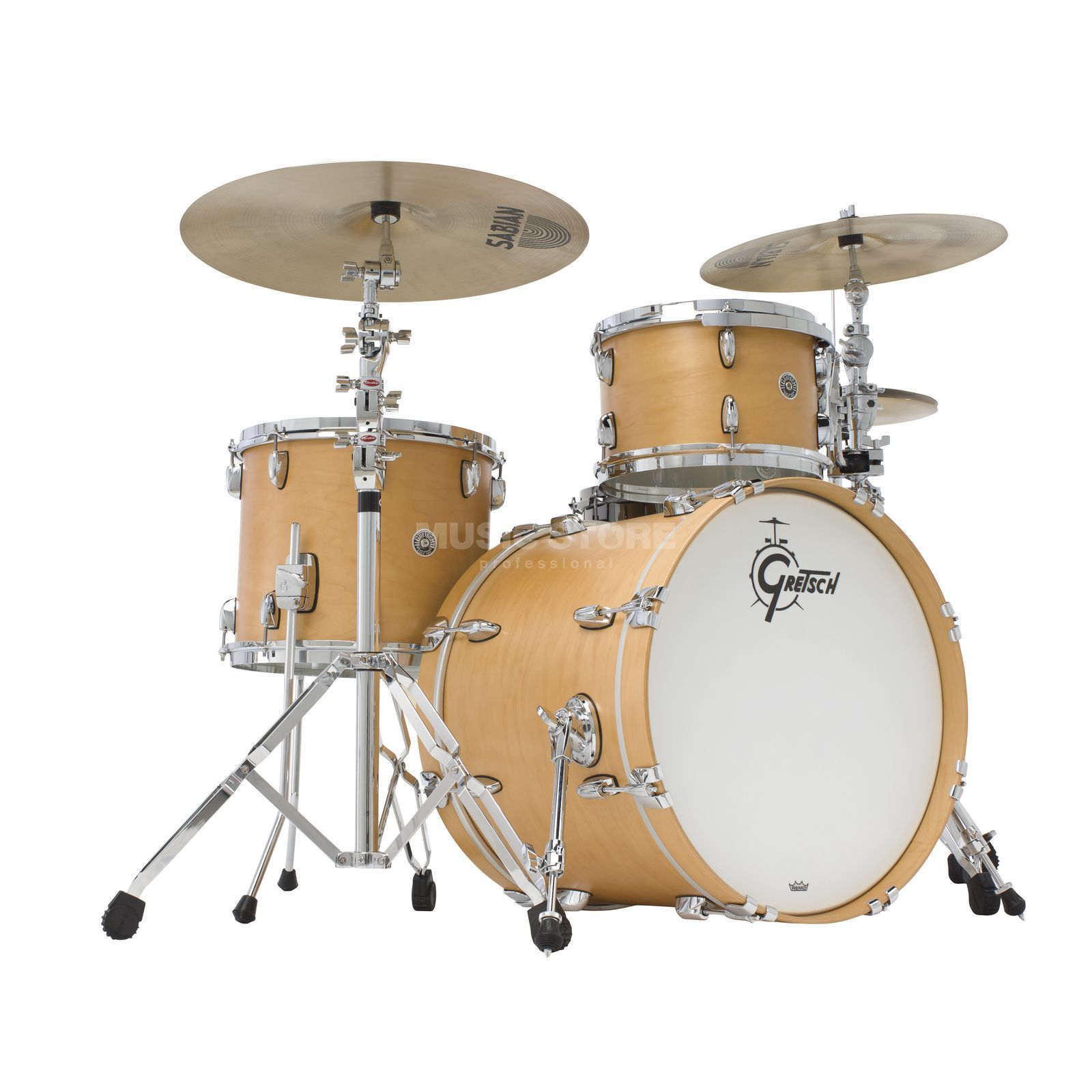 Gretsch Brooklyn ShellSet GB-R443, Satin Natural #SN Produktbild