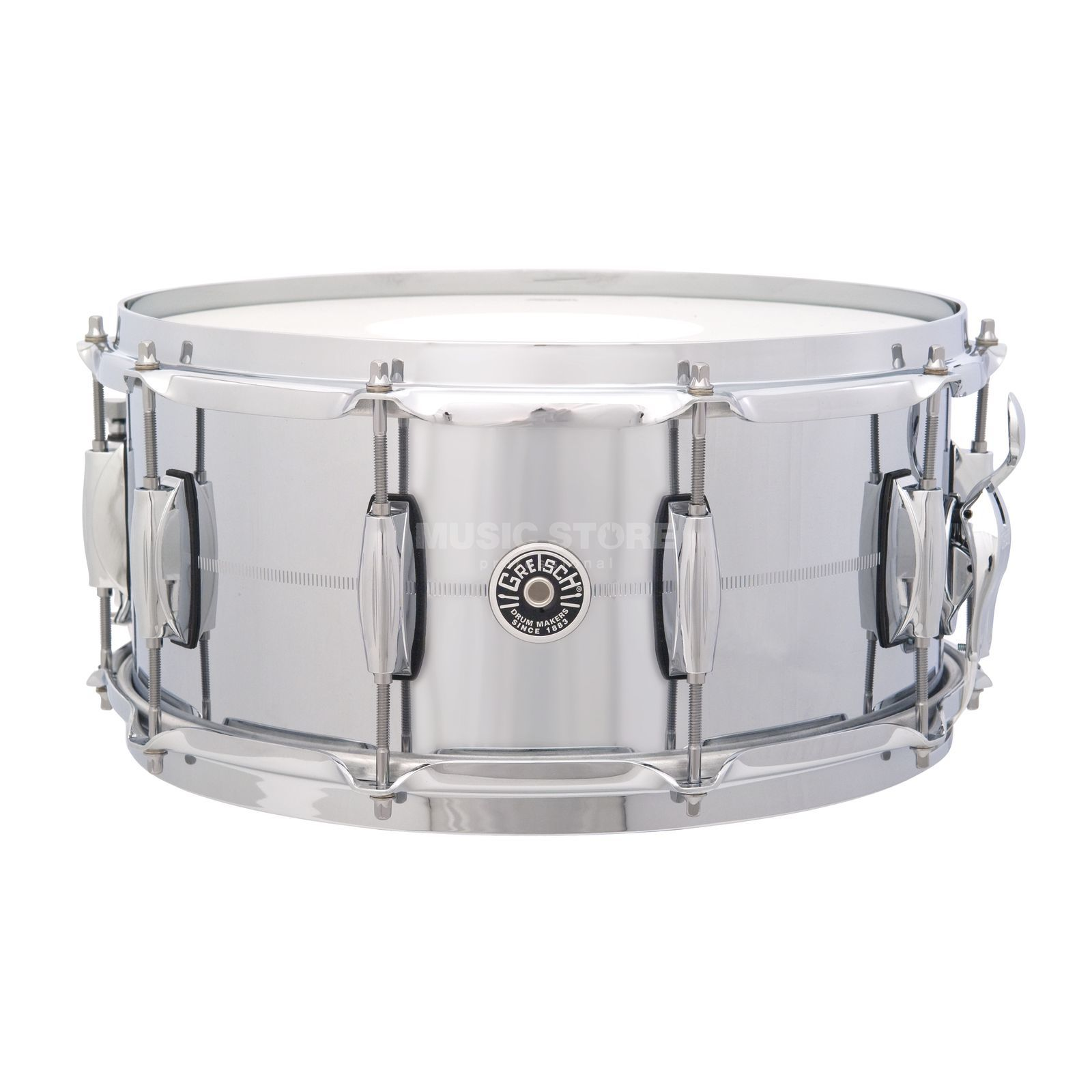 "Gretsch Brooklyn Snare 14""x6.5"", Chrome over Brass Produktbillede"