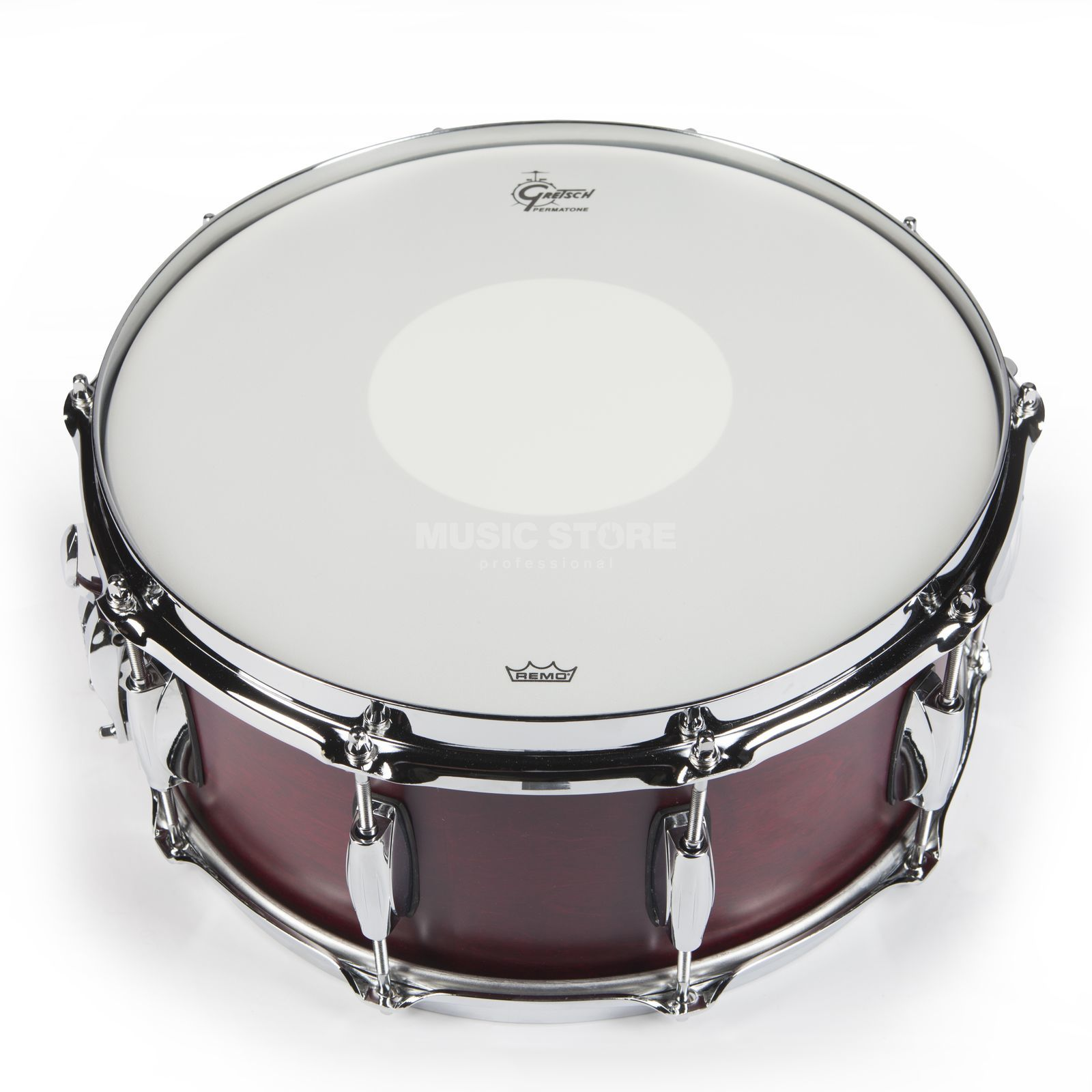 "Gretsch Brooklyn Snare 14""x6,5"", Satin Cherry Red #SCR Produktbild"