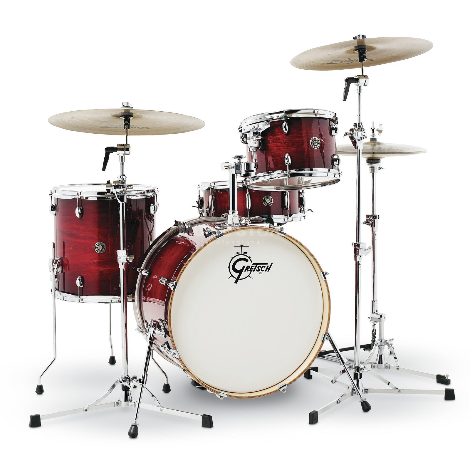 Gretsch Catalina Club CT1-J404, Gloss Crimson Burst Produktbild