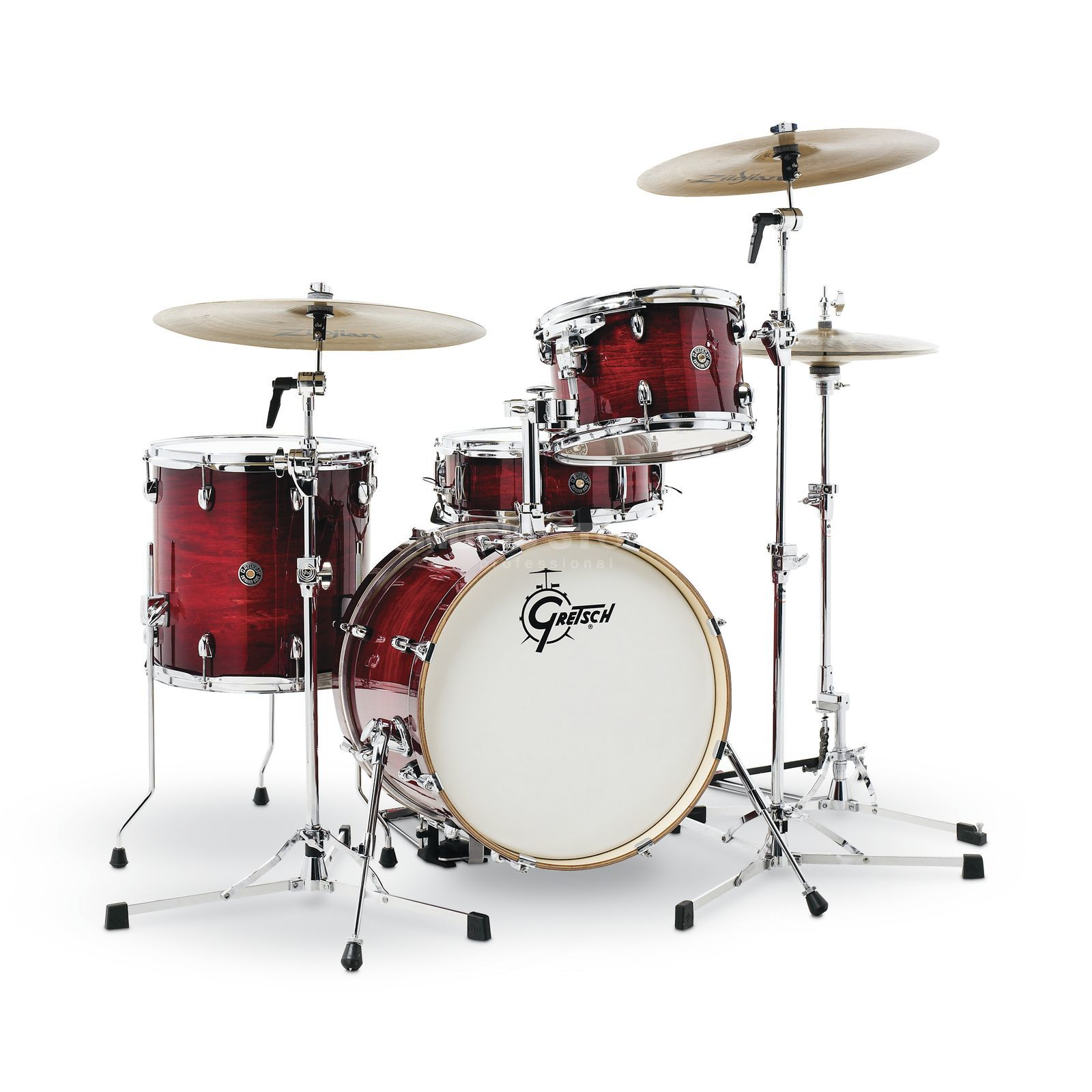 Gretsch Catalina Club Jazz CT1-J484, Gloss Crimson Burst Produktbild