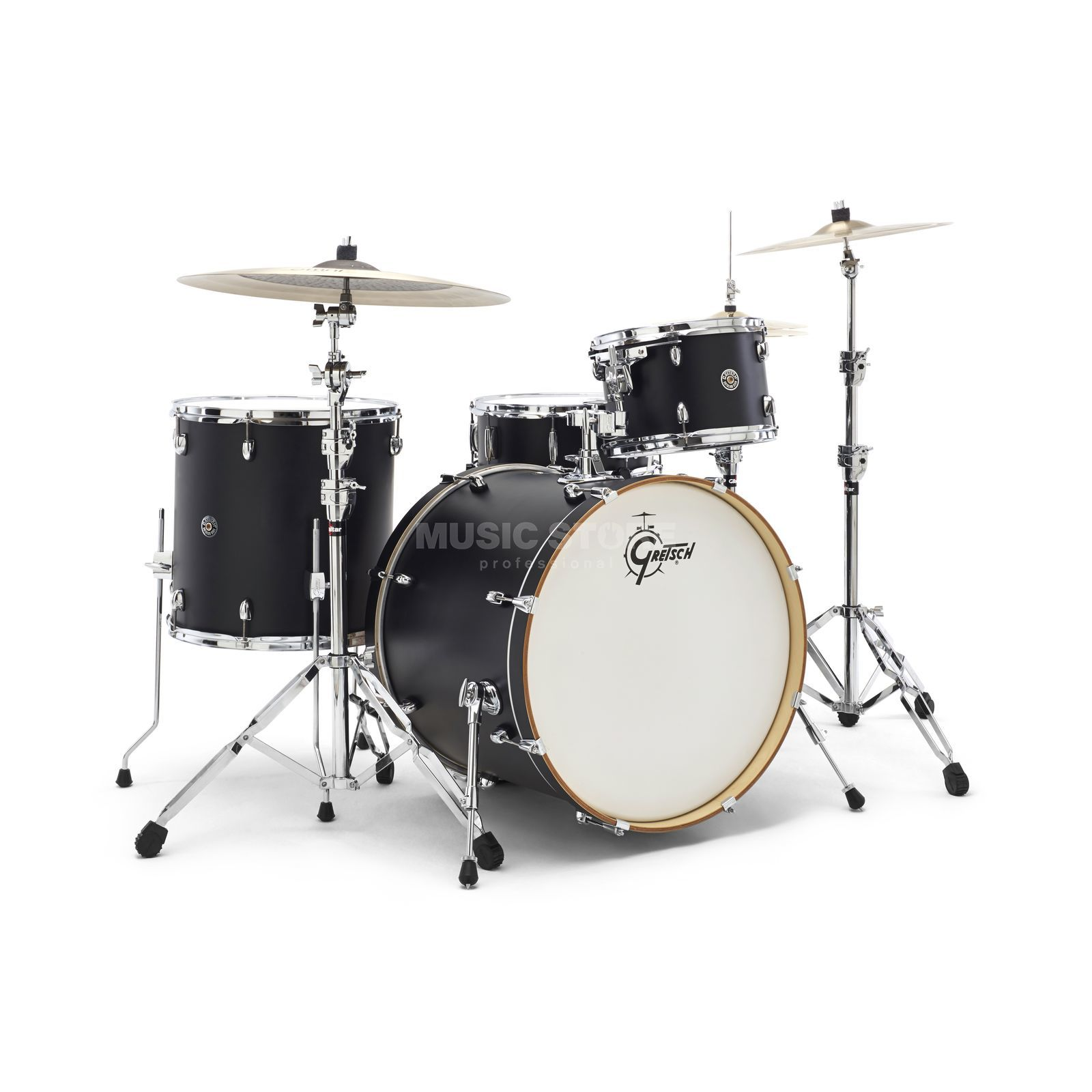 Gretsch Catalina Club Stand. CT1-E824, Satin Flat Black #FB Produktbillede