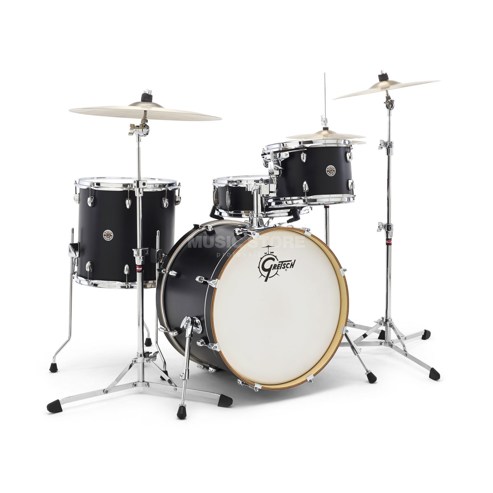 Gretsch Catalina Club Studio CT1-J404, Satin Flat Black #FB Produktbillede