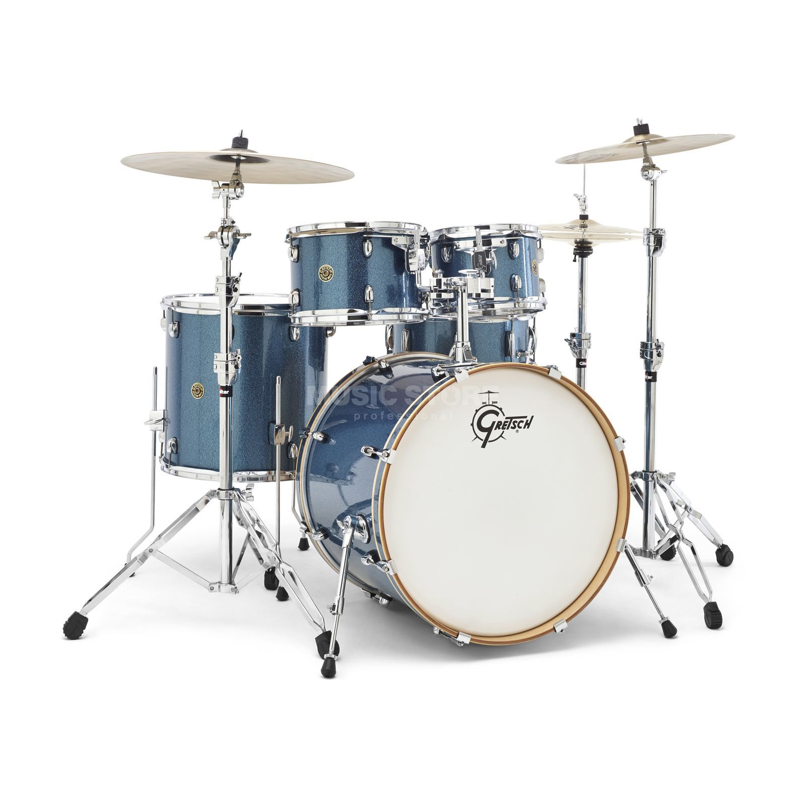 Gretsch Catalina Maple CM1-E825, Aqua Sparkle #AS Produktbild