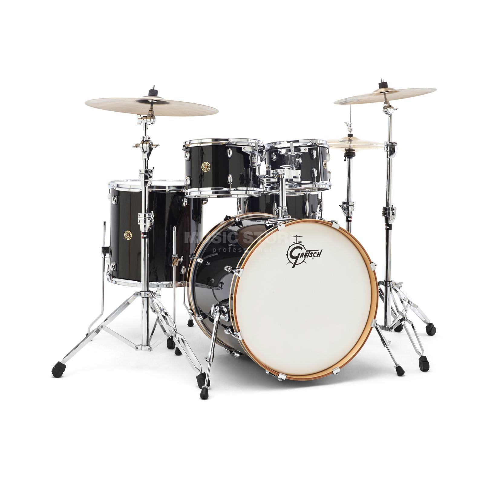 Gretsch Catalina Maple CM1-E825, Black Bronze Glitter #BBS Produktbillede