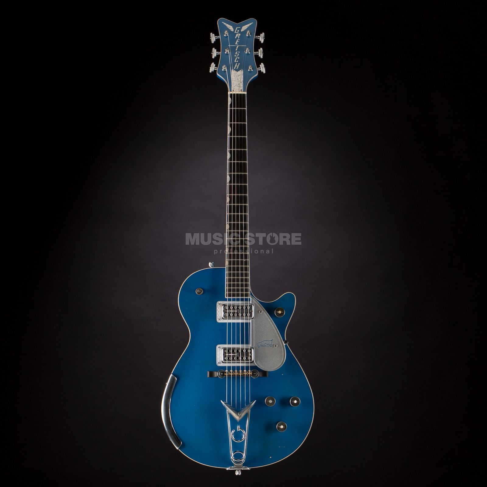 Gretsch Custom Shop G6134 Penguin Relic Lake Placid Blue, #UC16021353 Produktbillede