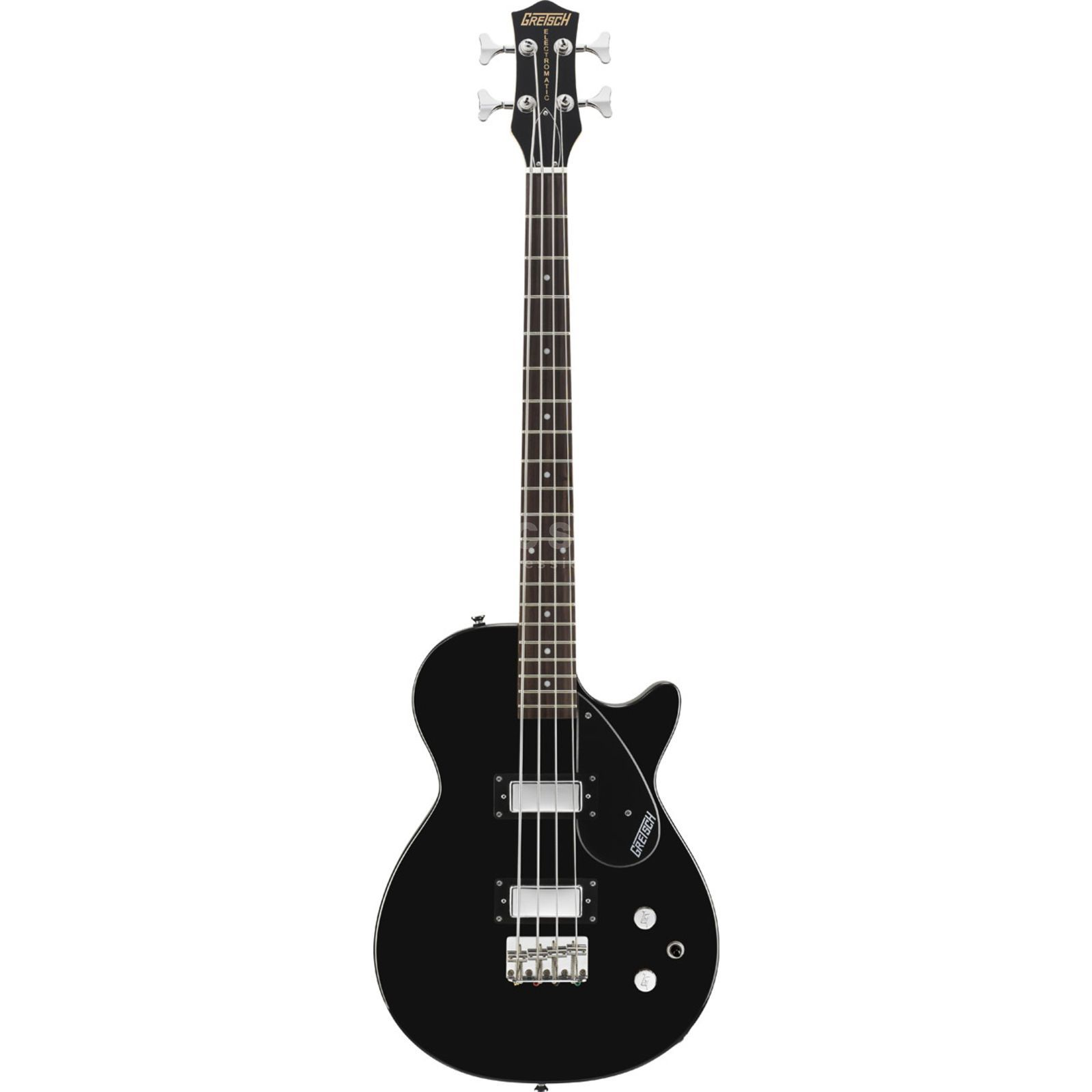 Gretsch G2220 Junior Jet II Bass Guita r, Black   Produktbillede