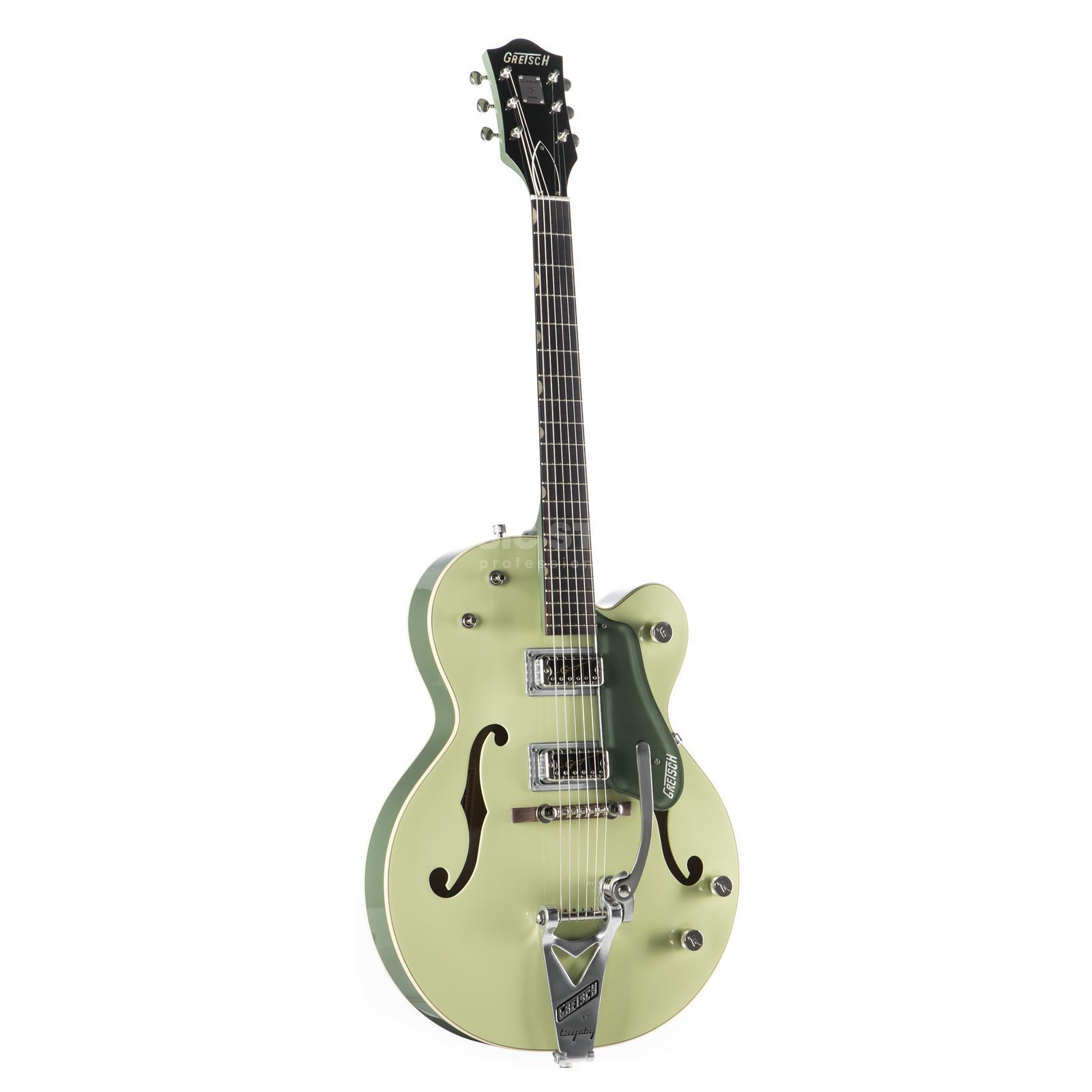 Gretsch G6118T-60 VSE 1960 Anniversary Bigsby 2-Tone Smoke Green Product Image