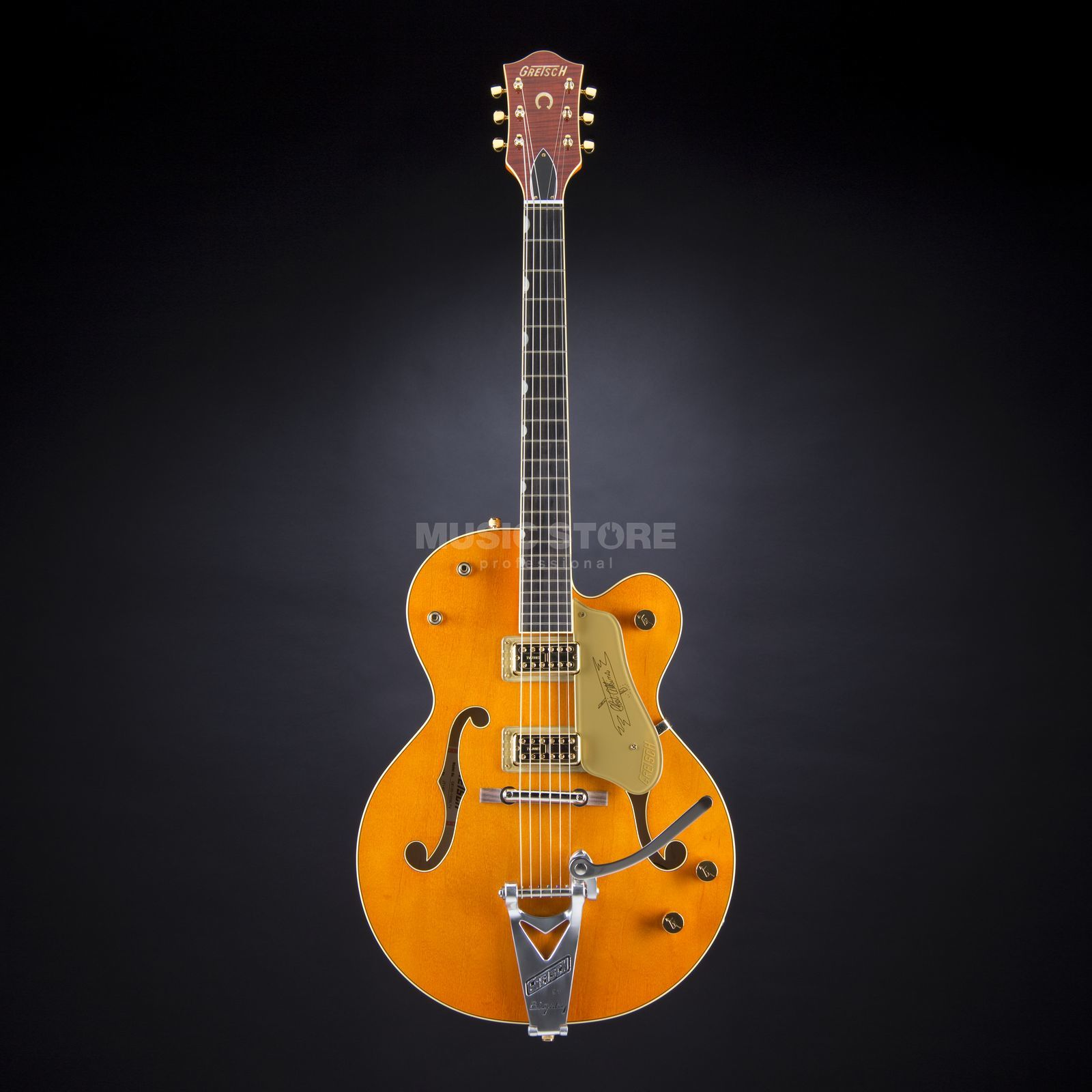 Gretsch G6120-1959LTV Chet Atkins Hollow Body Orange Produktbillede