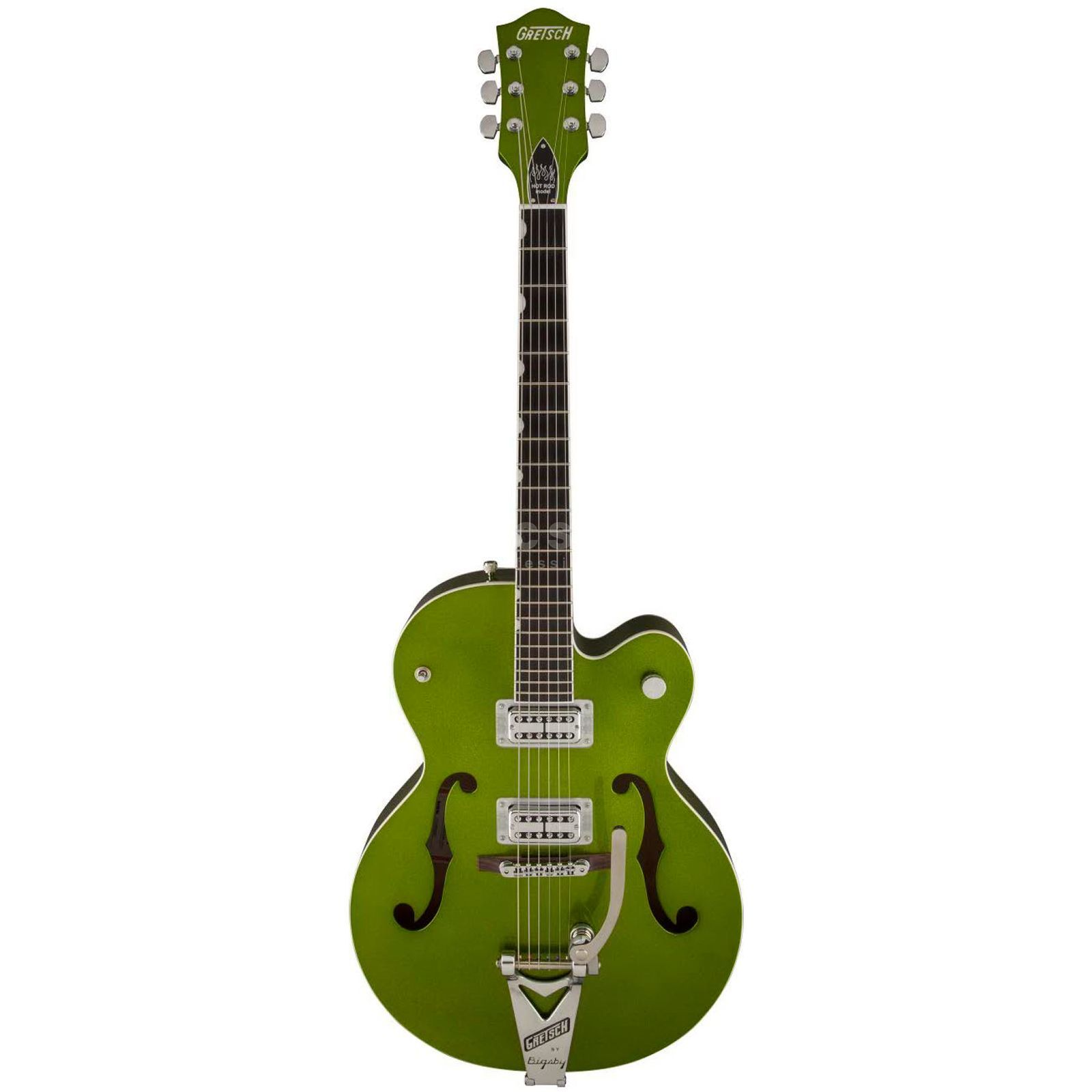 Gretsch G6120SH Brian Setzer Hot Rod Green Sparkle Produktbild
